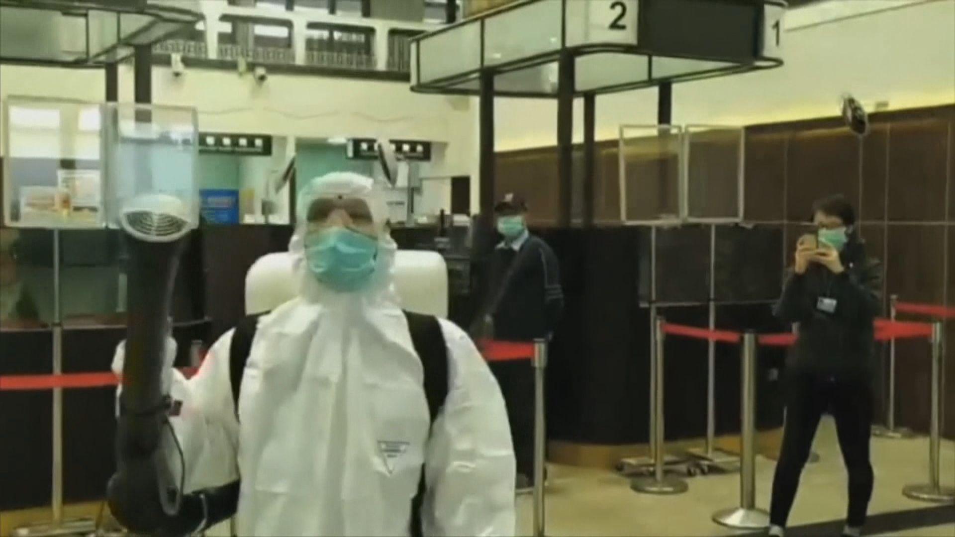台疫情指揮中心提升級別應對疫情
