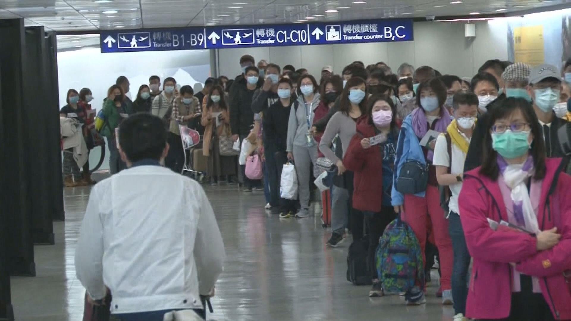 台灣新增五宗新冠病毒輸入個案 一患者由港返台後確診