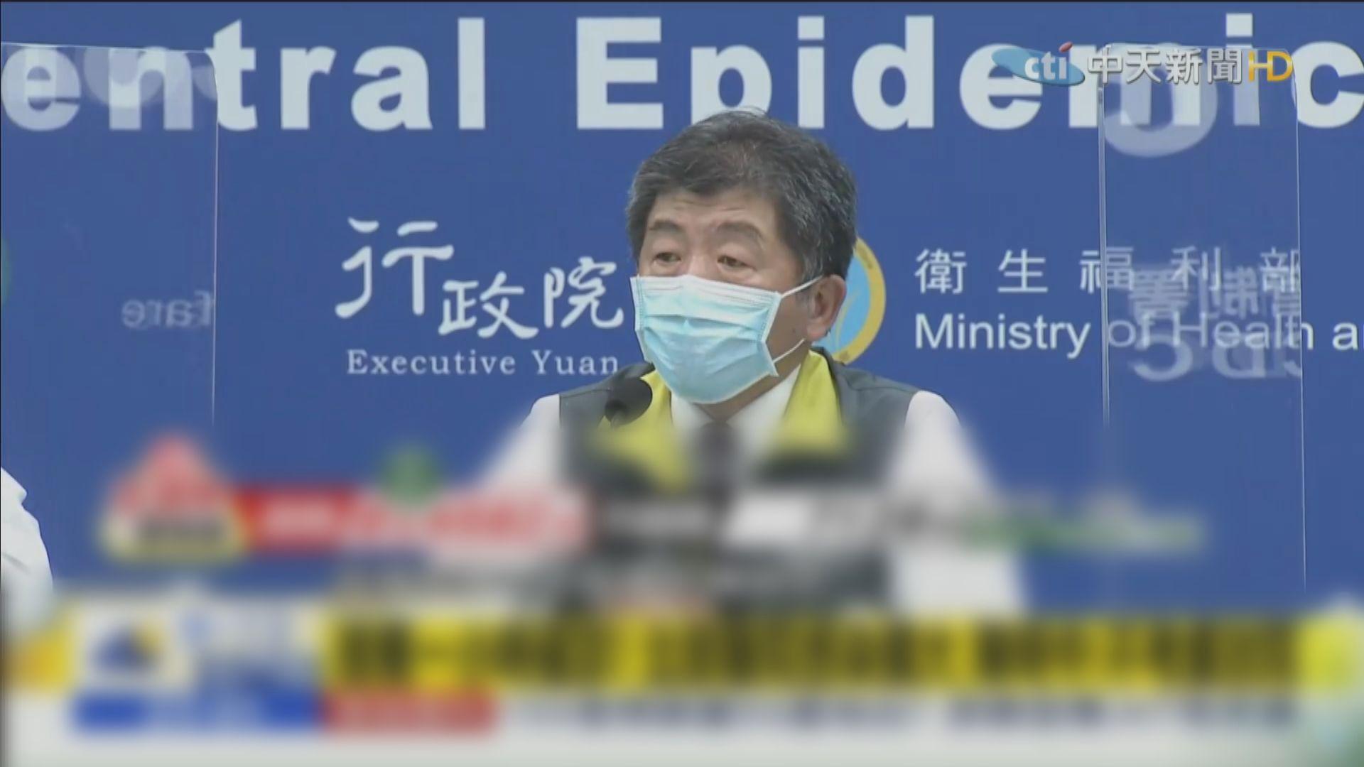 台灣再多一名醫生確診 屬院內群聚感染
