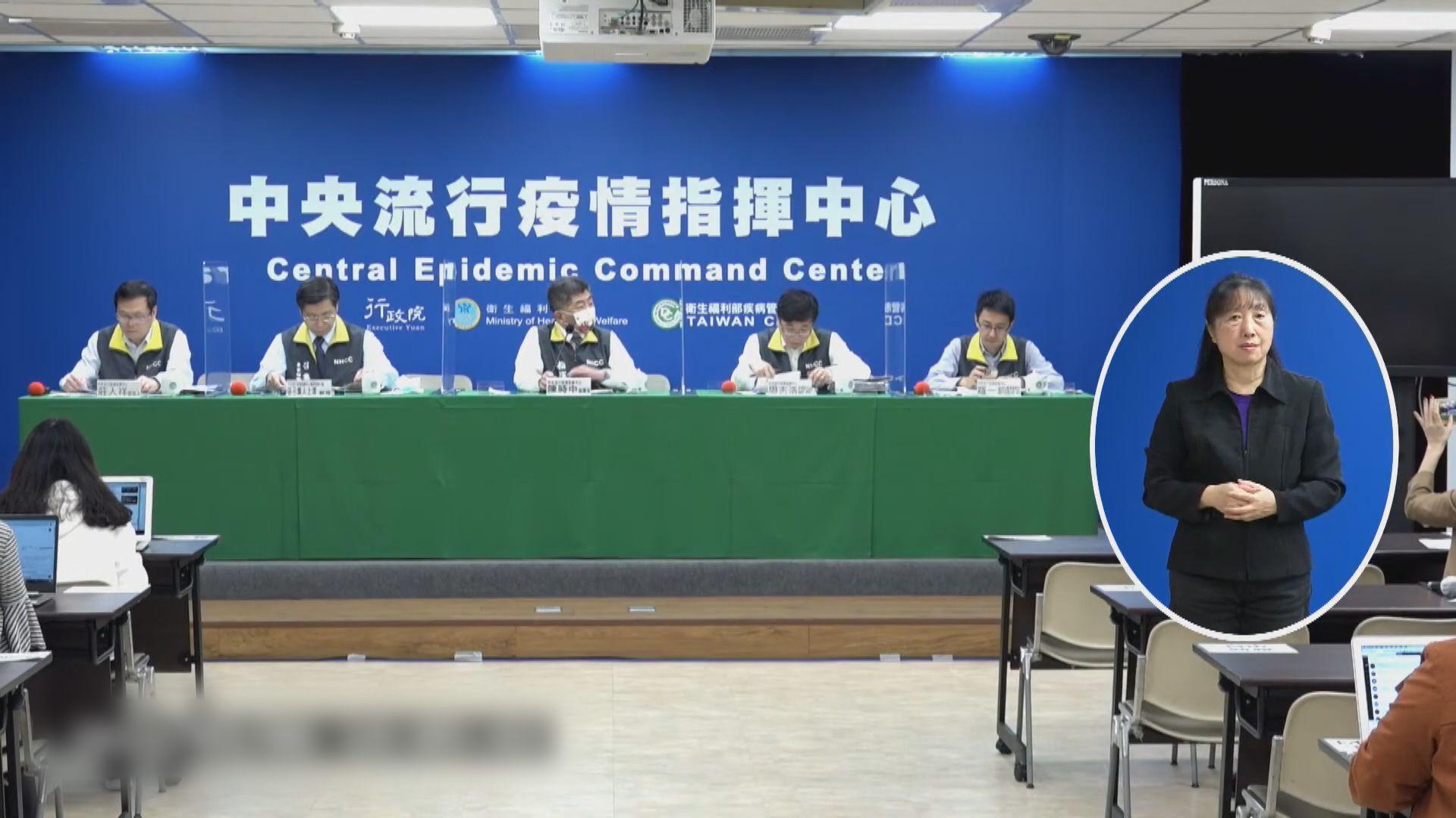 台灣新增七宗新冠病毒輸入個案 再添一死