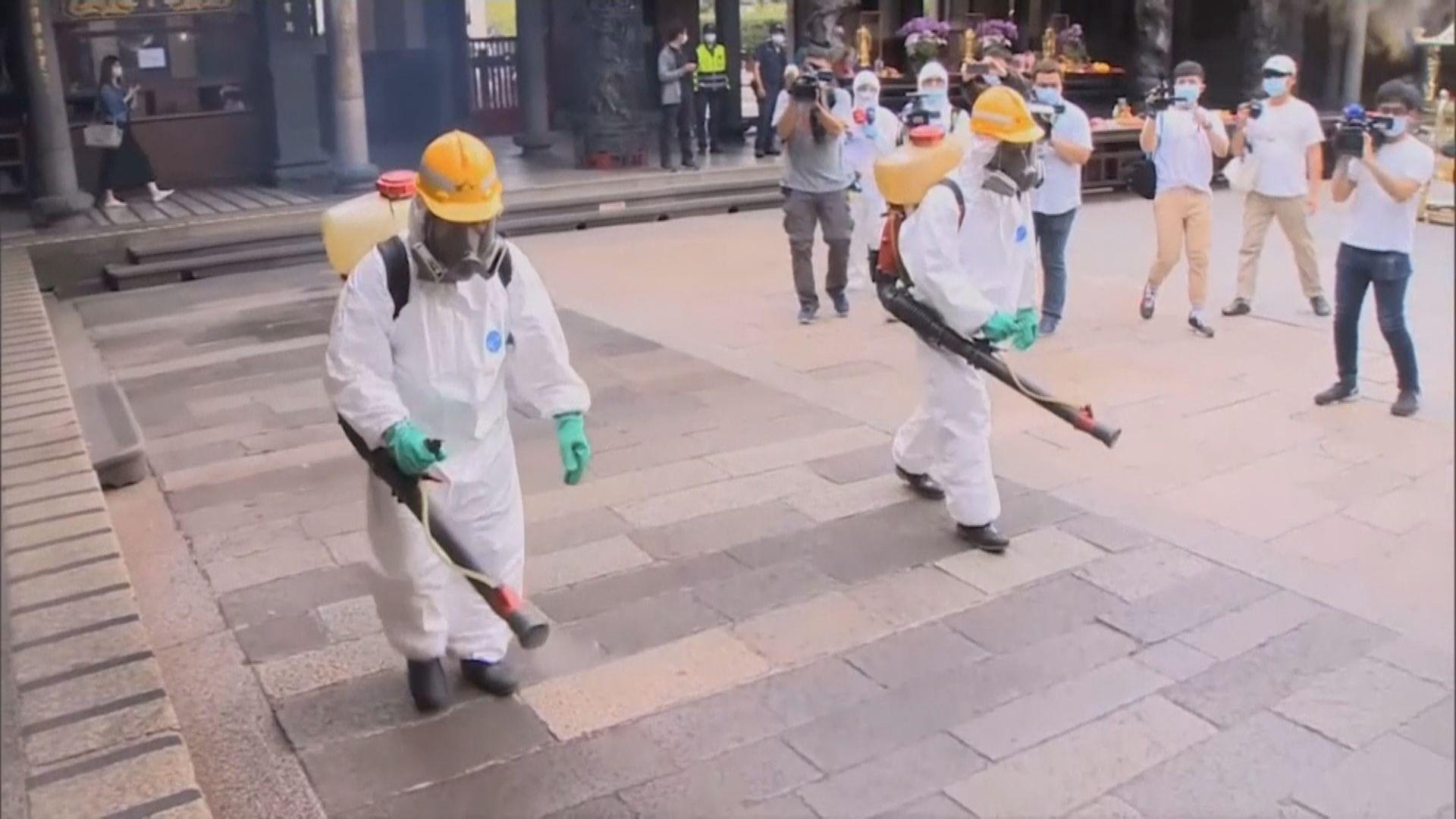 台灣增180宗確診 多個縣市提升警戒級別加強防疫