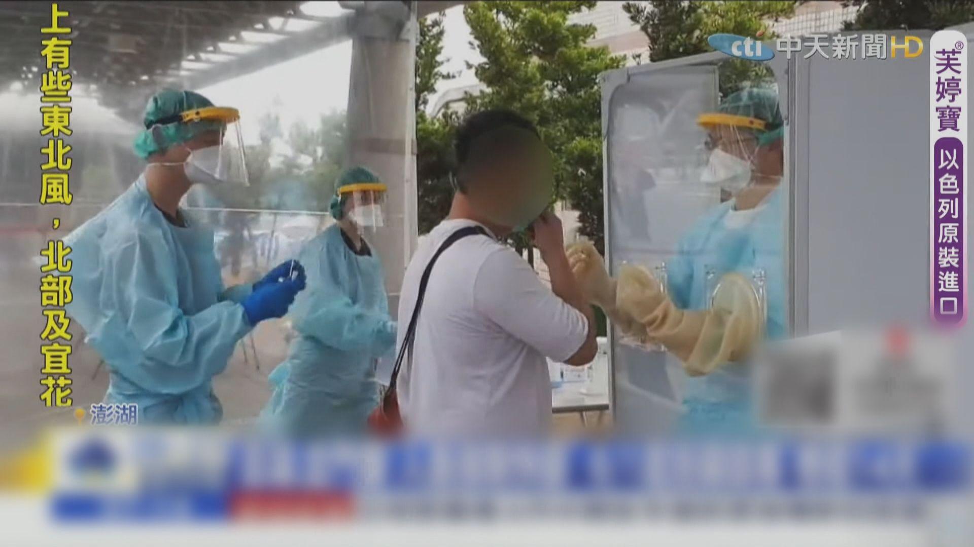 台灣疫情持續擴散 澎湖出現首宗確診