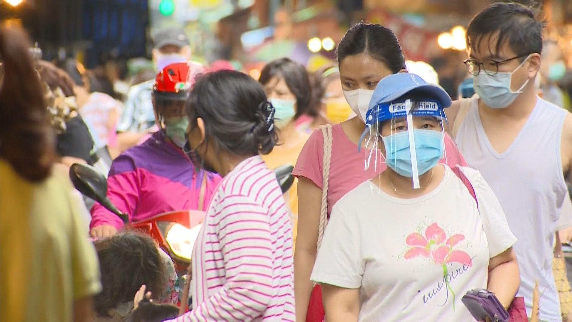 台灣增511宗本土確診病例 再多38人死亡
