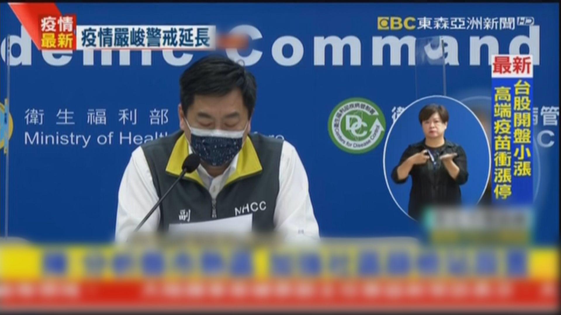 台灣新增219宗新冠病毒本土病例 再多22人死亡