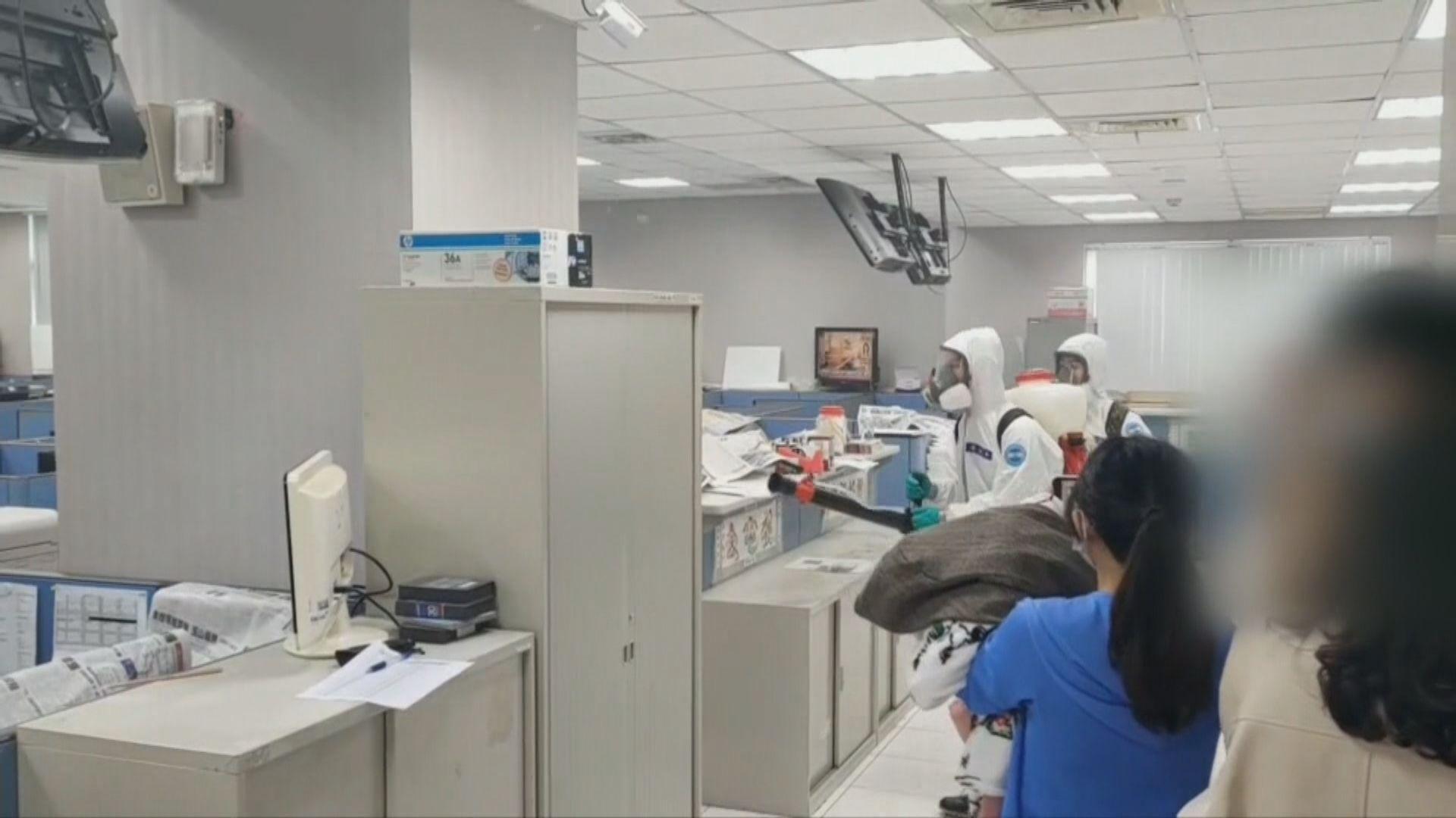 台灣電視大樓攝影師倒斃 證實對新冠病毒呈陽性
