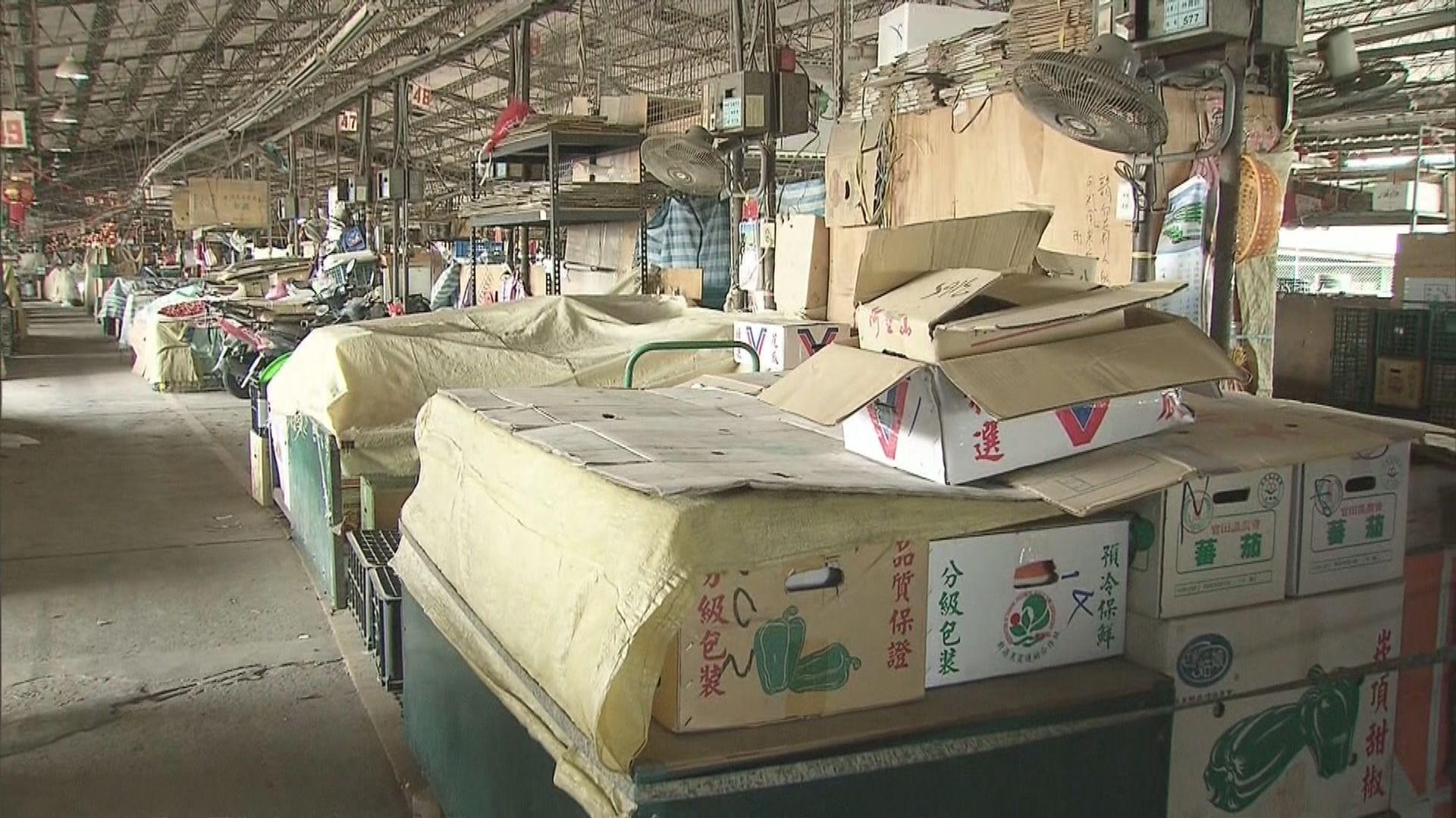 台北蔬果批發市場爆疫 市長提場內人士立即打疫苗