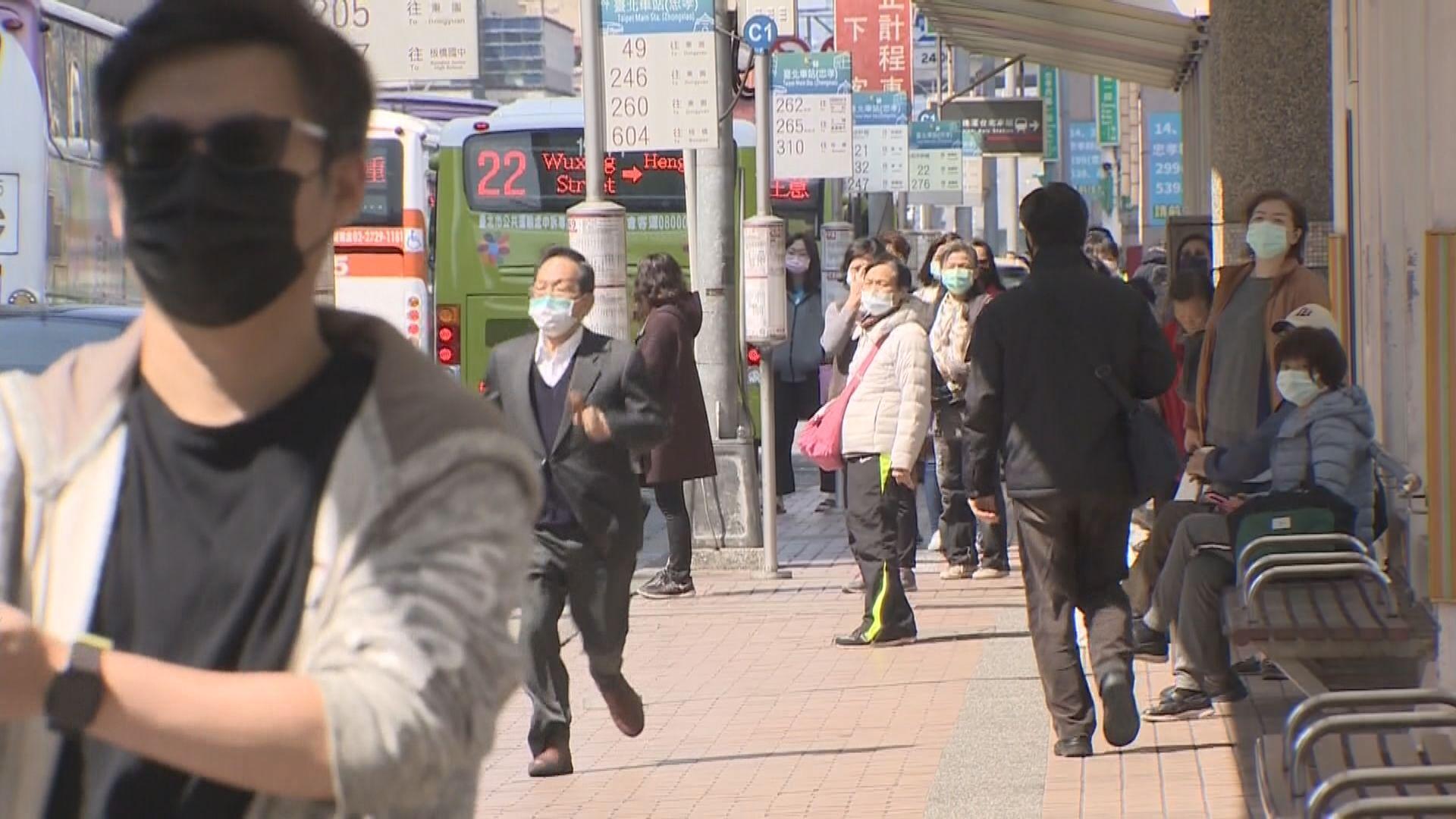 台灣將香港調低為中低風險地區