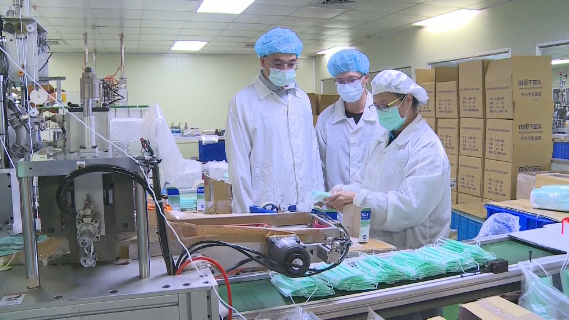 台灣口罩出口禁令延長至四月底