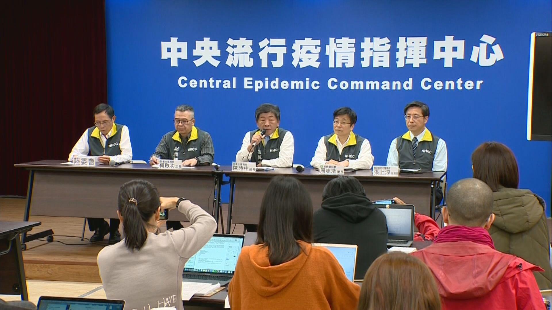 台灣提升防疫等級並拒絕武漢旅客入境
