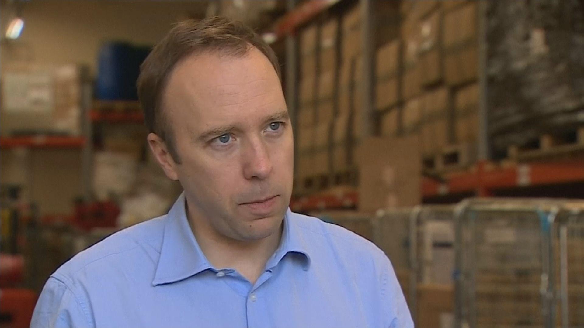 英衞生大臣:沒證據顯示病毒是人為製造