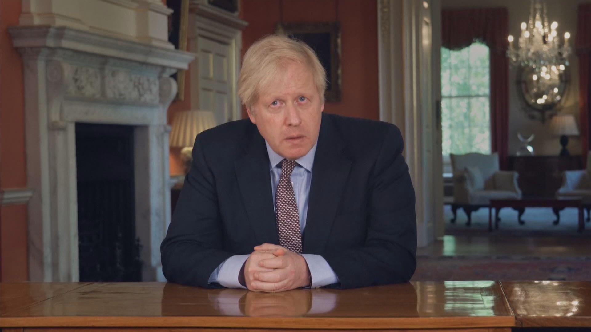約翰遜宣布英國有條件地重啟社會