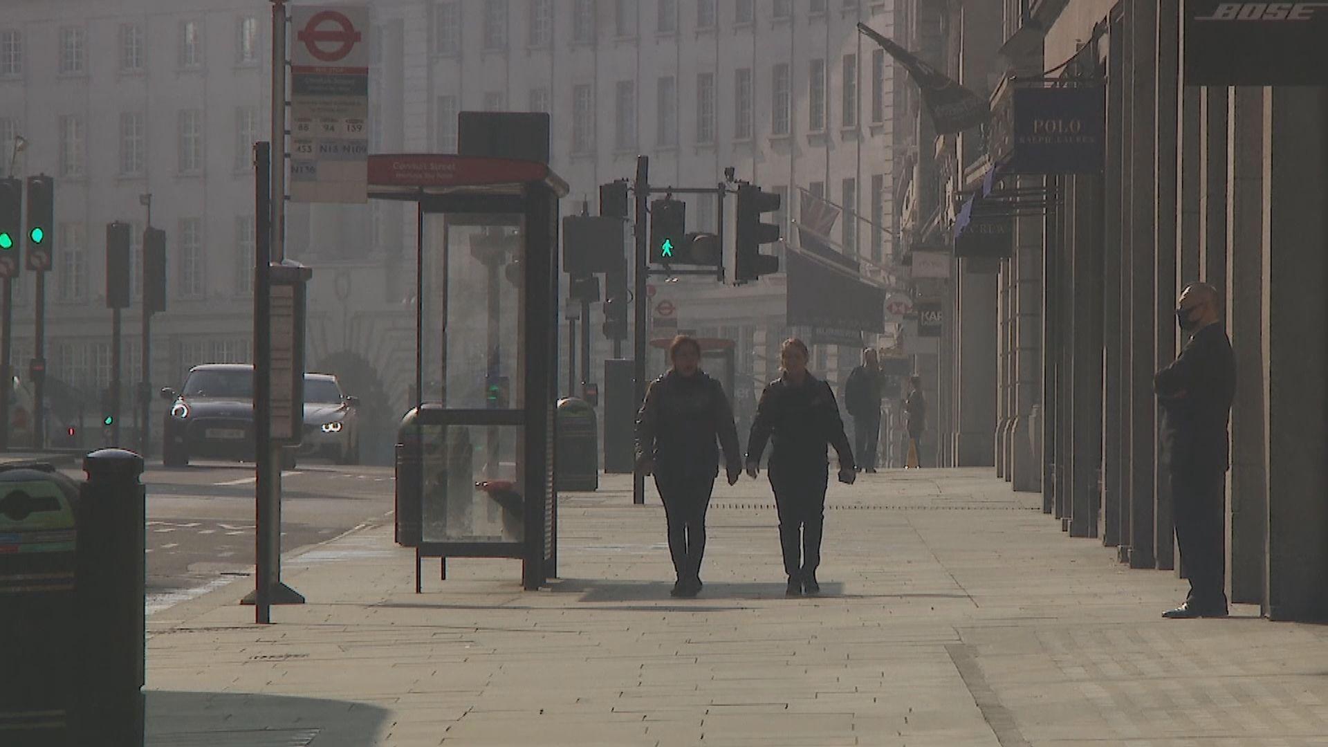 英國下周六起放寬兩米社交距離限制