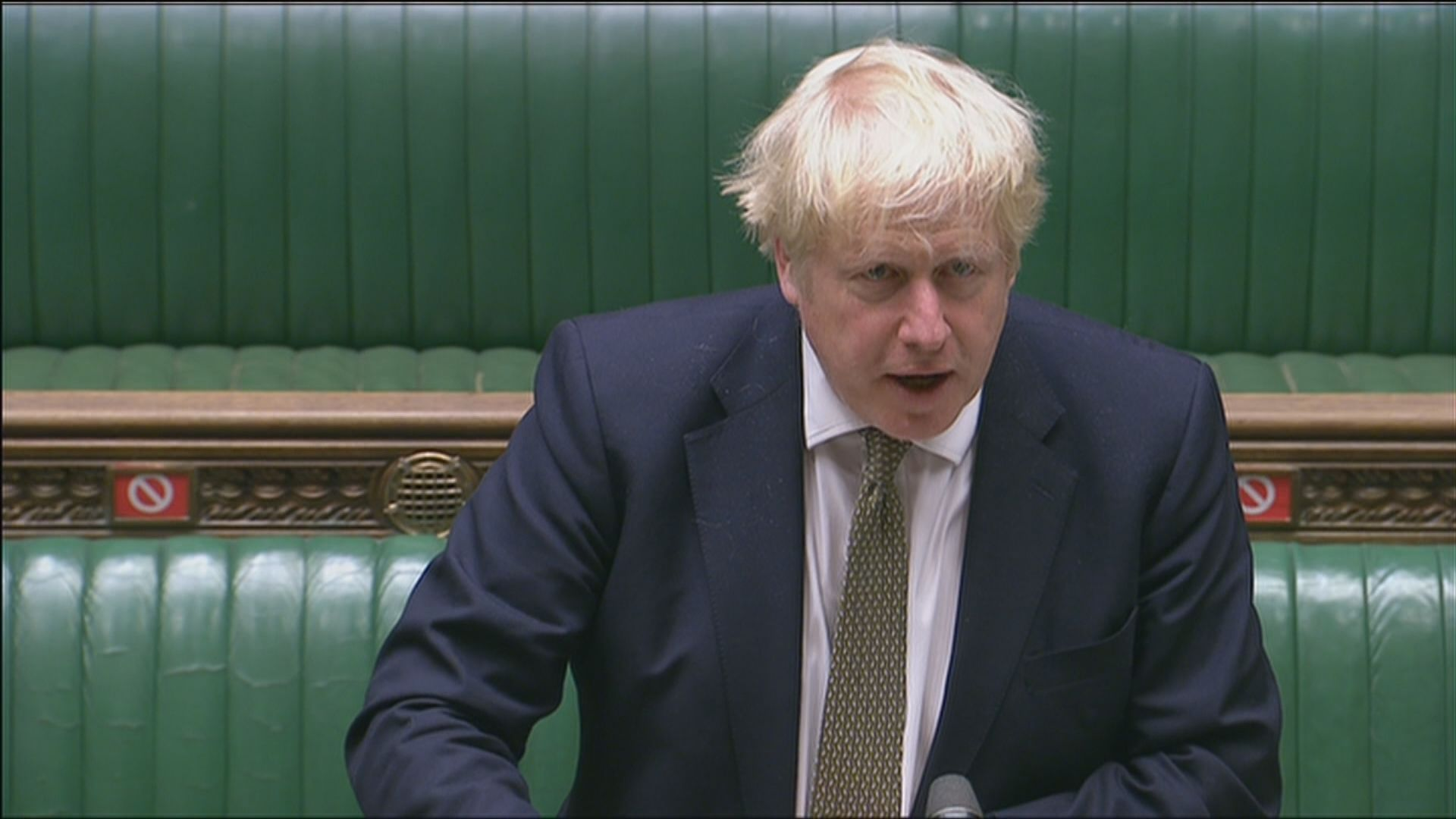 約翰遜公布英格蘭實施三級疫情警戒制度