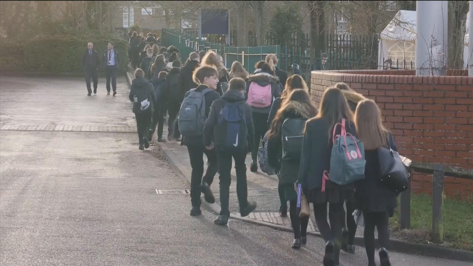 英國教育工會促擴大停課範圍至整個英格蘭遭拒絕