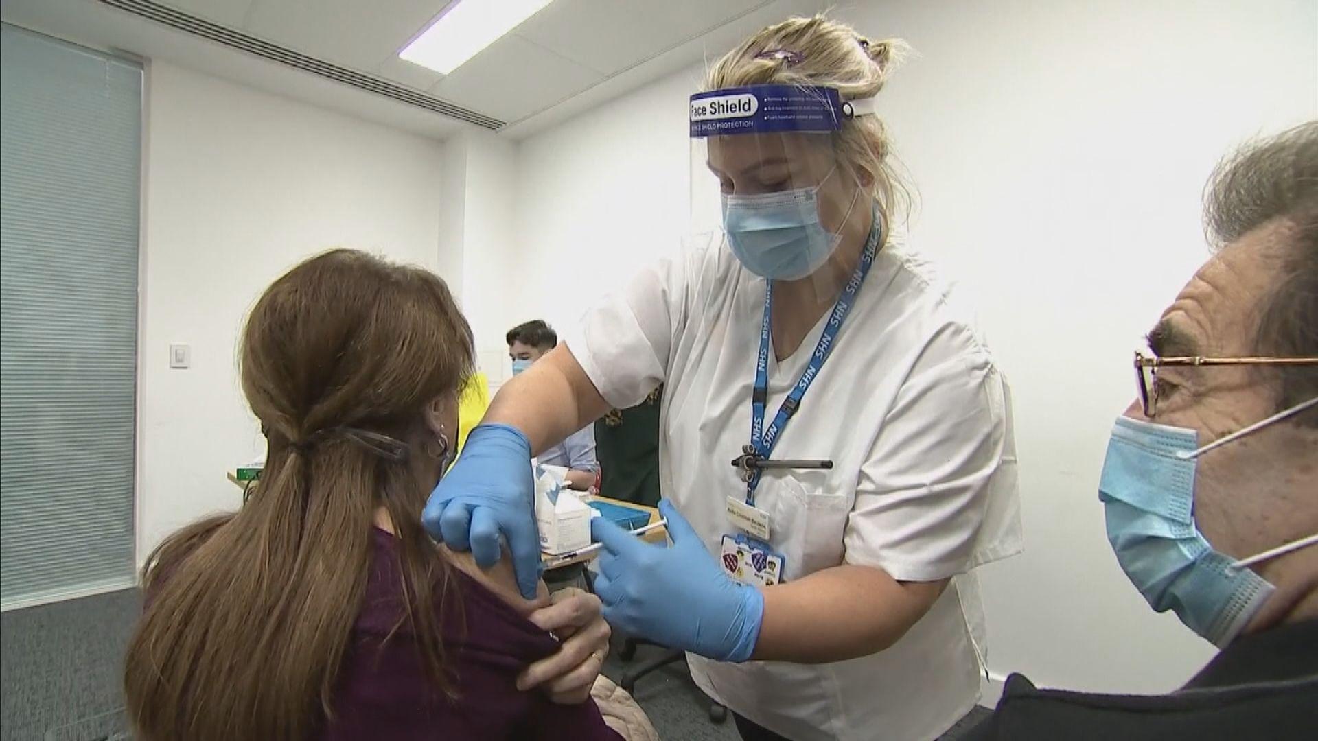 英再增5萬2千多宗新冠確診 英揆:加快接種疫苗計劃