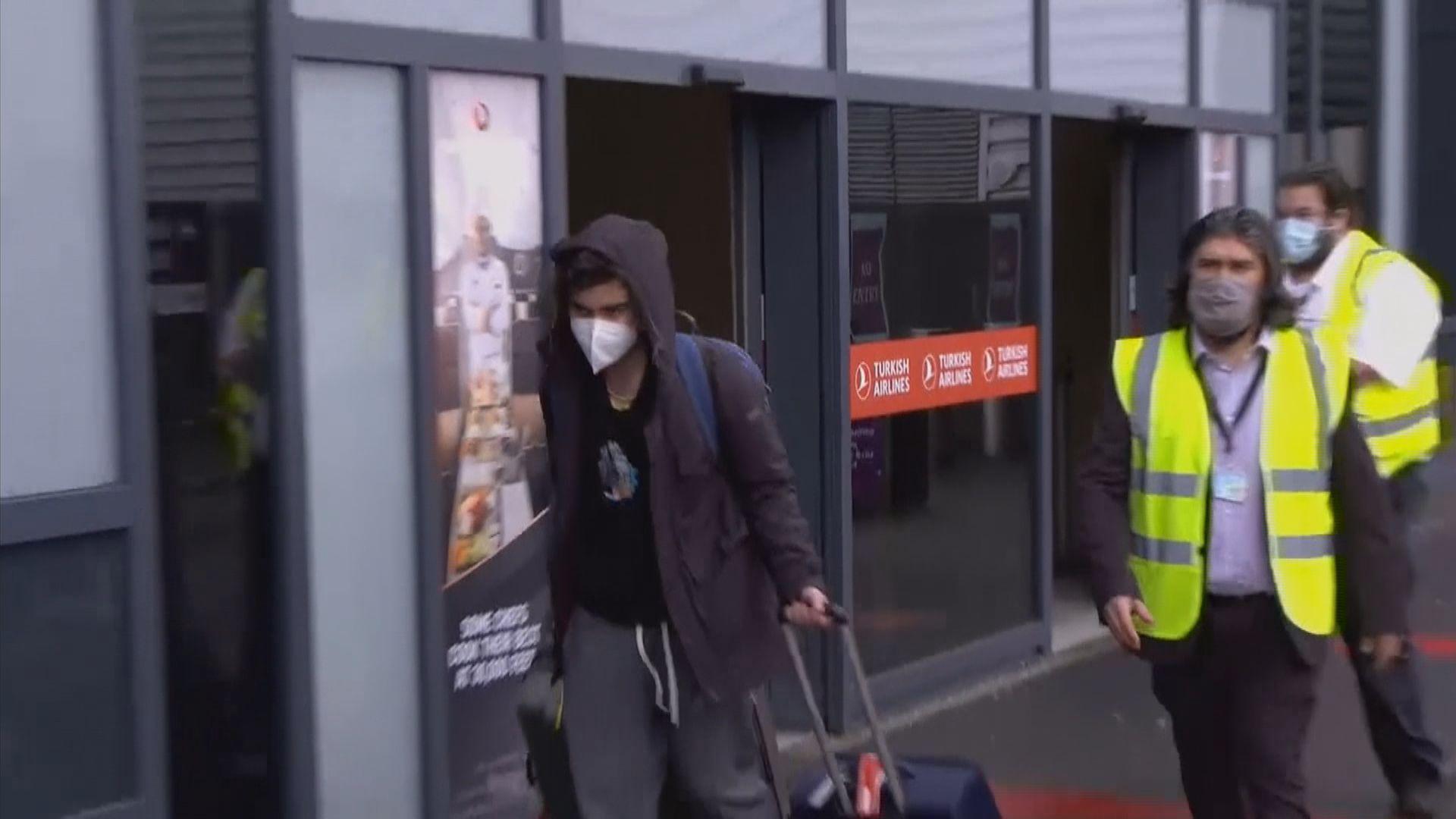 英國部分返國公民需自費到酒店隔離
