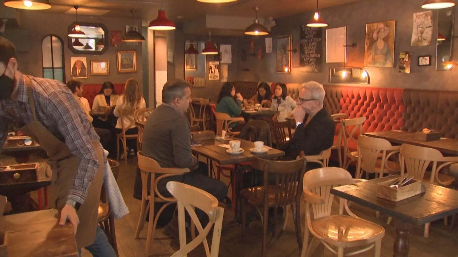 英格蘭地區放寬防疫措施 食肆恢復堂食