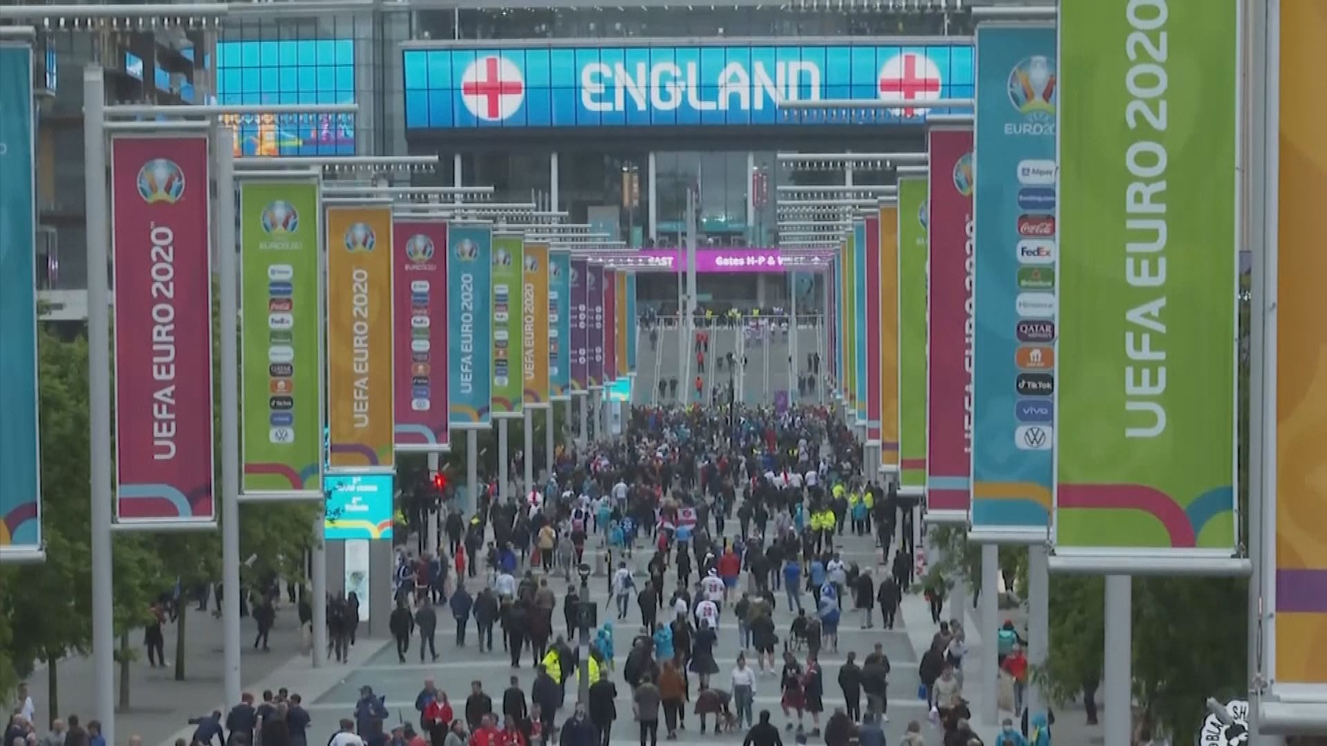 英格蘭足總不安排球迷赴意大利觀看歐國盃比賽