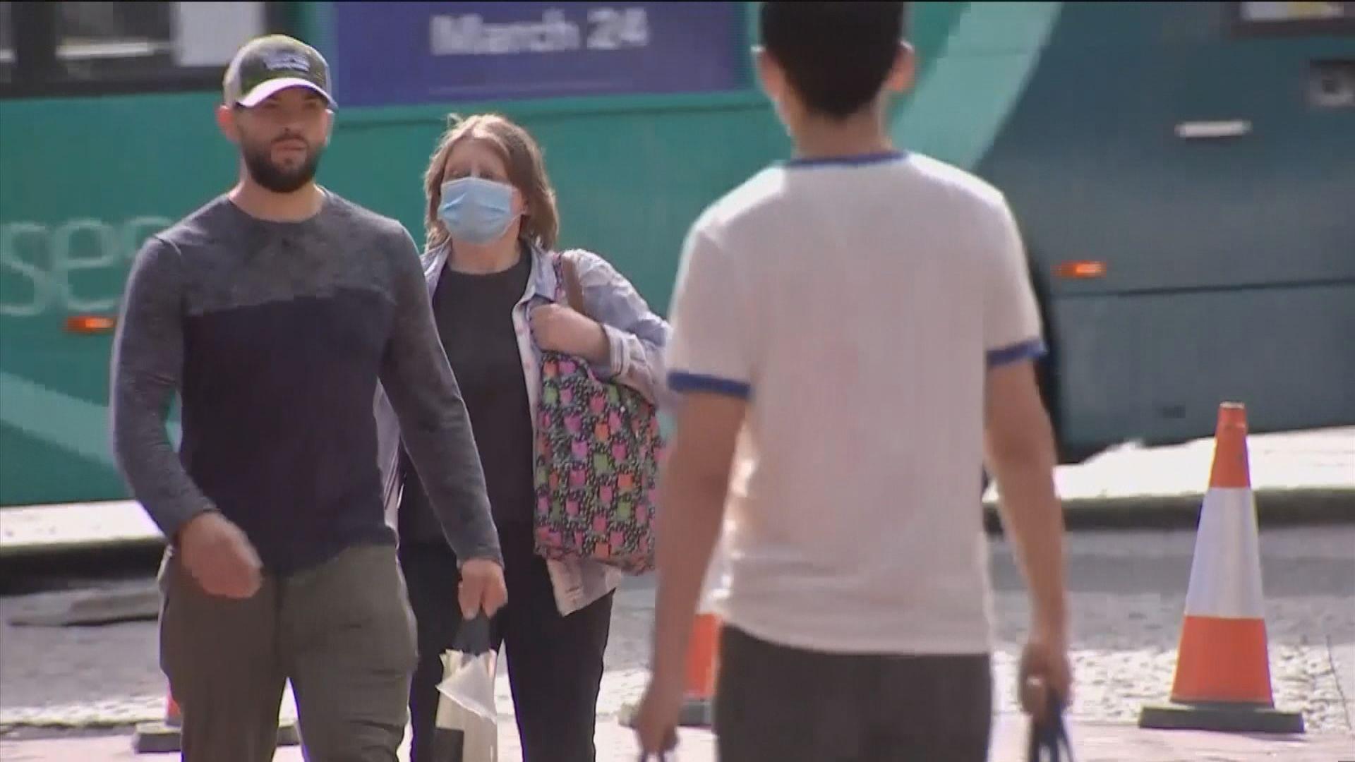 英國新冠病毒確診個案連續五天下跌
