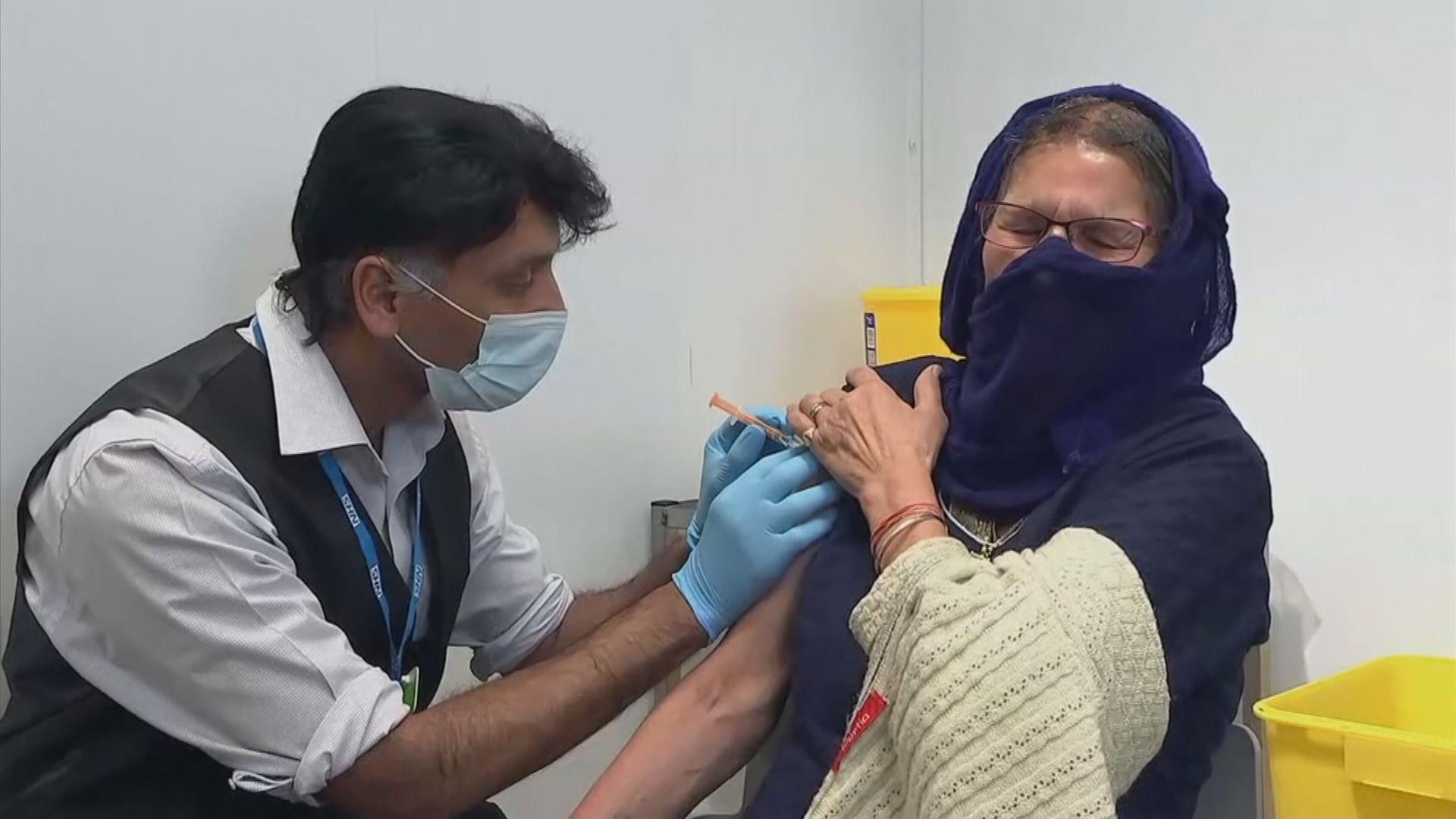 英國將為民眾接種加強劑