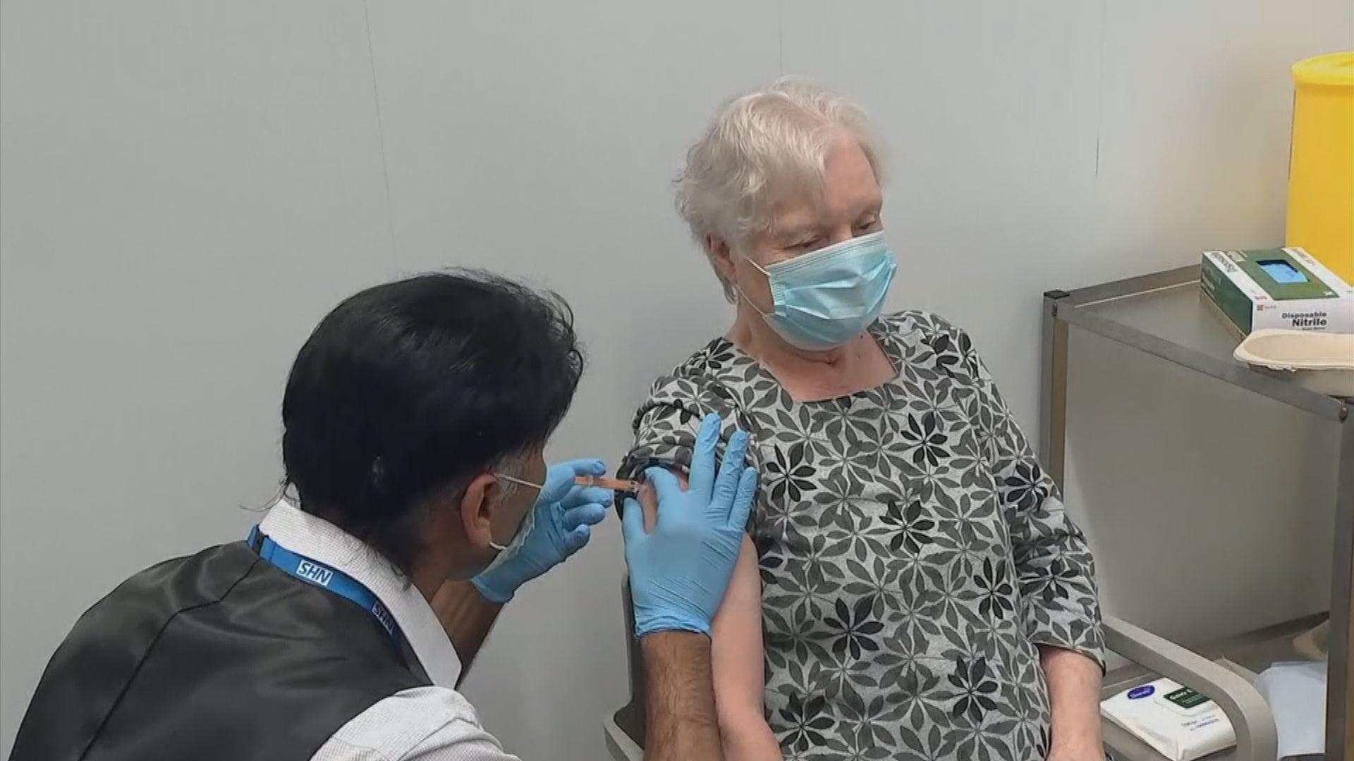 英國新增近四萬宗確診單日破紀錄逾32萬人注射疫苗