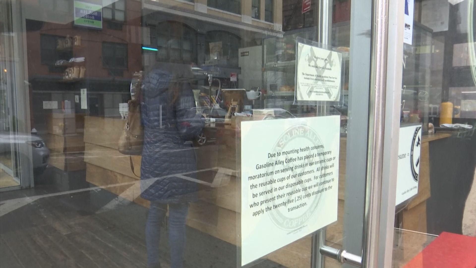 紐約及洛杉磯關閉食肆酒吧遏制疫情