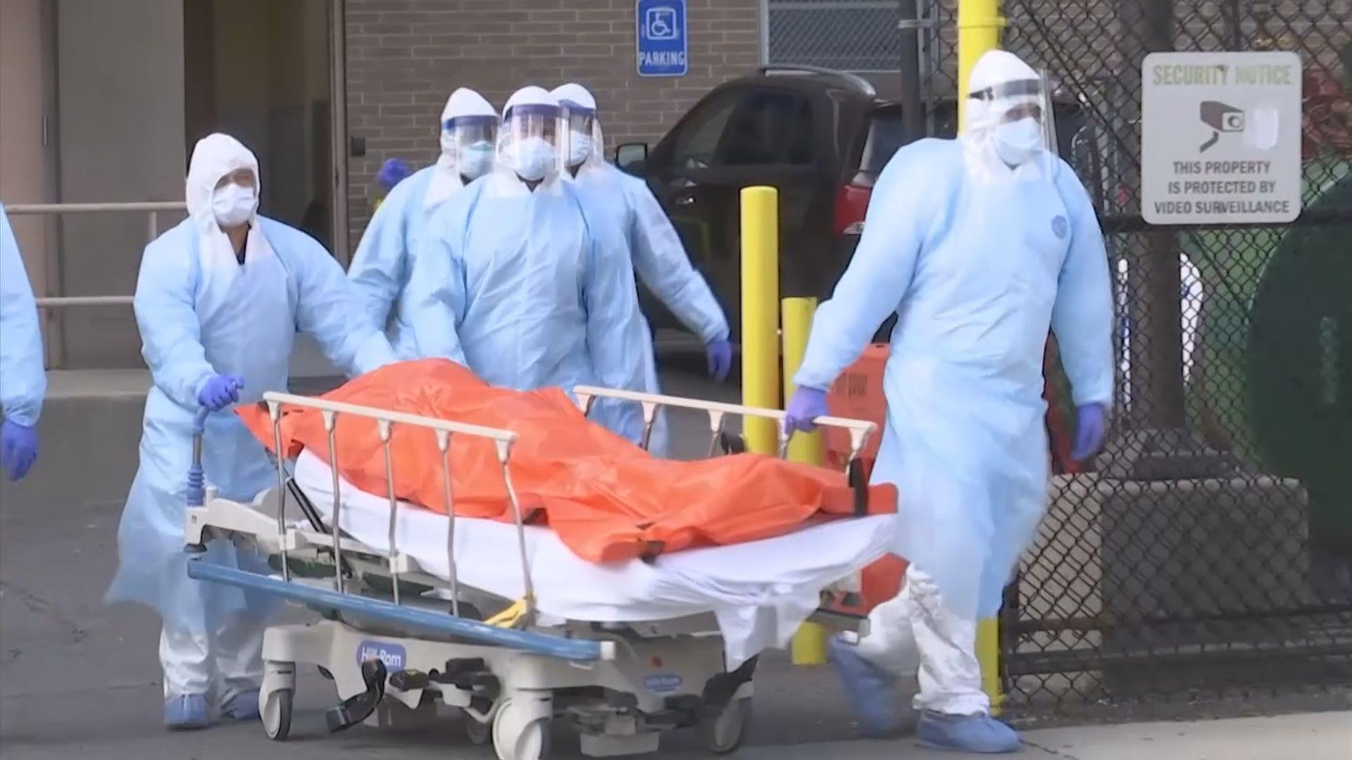紐約州單日死亡人數略為下跌 州長:疫情是否達高峰仍言之尚早