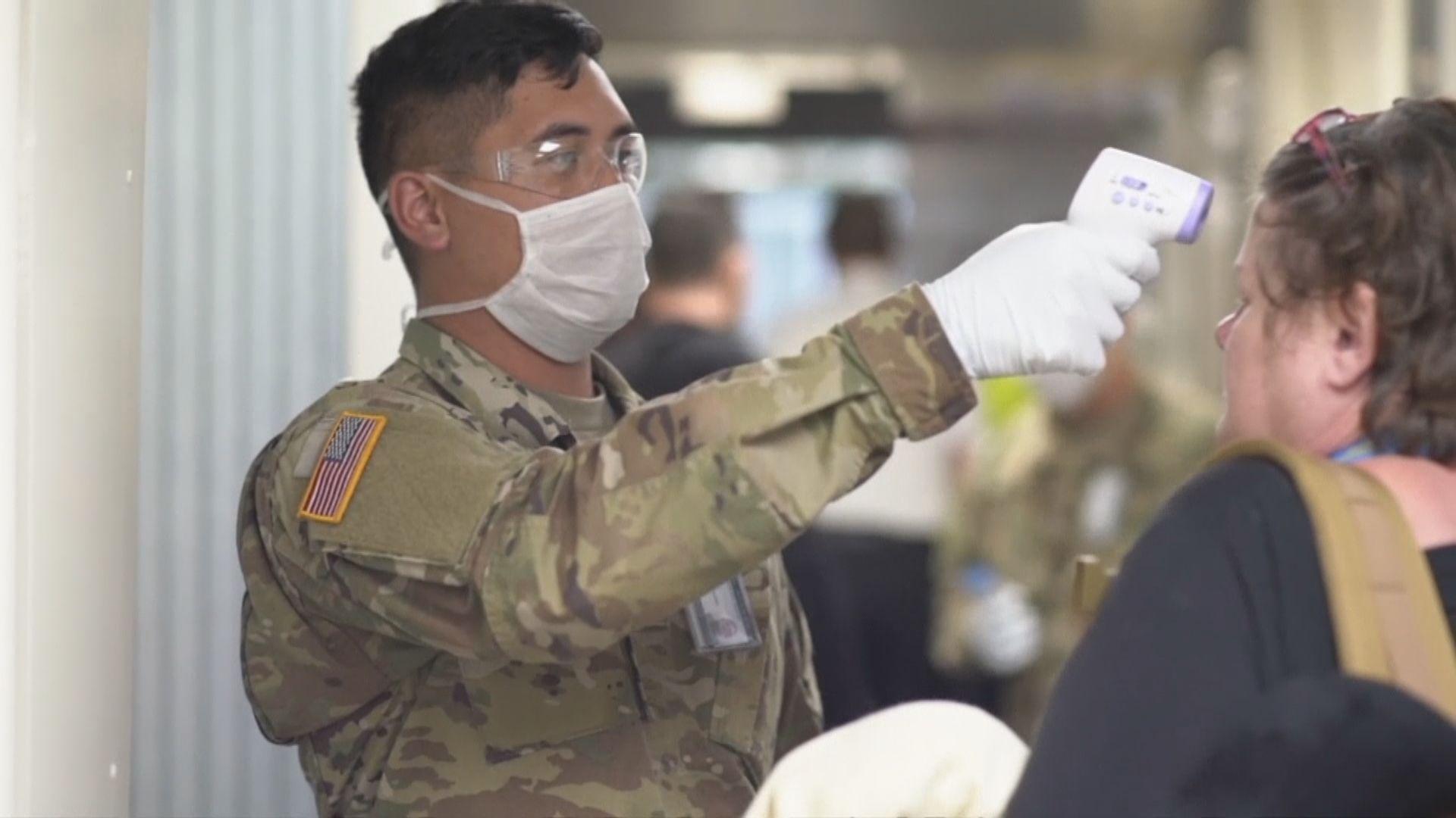 美情報機關去年11月已警告疫情會影響亞洲駐軍