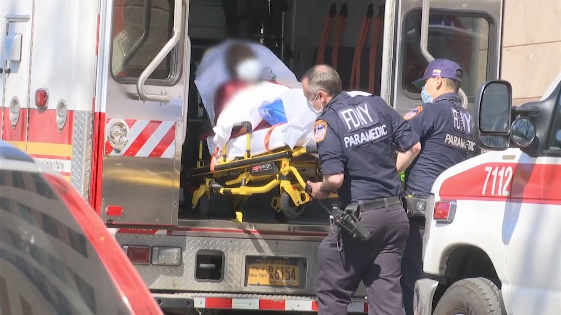 紐約州確診個案超越西班牙 單日死亡個案連續三日新高