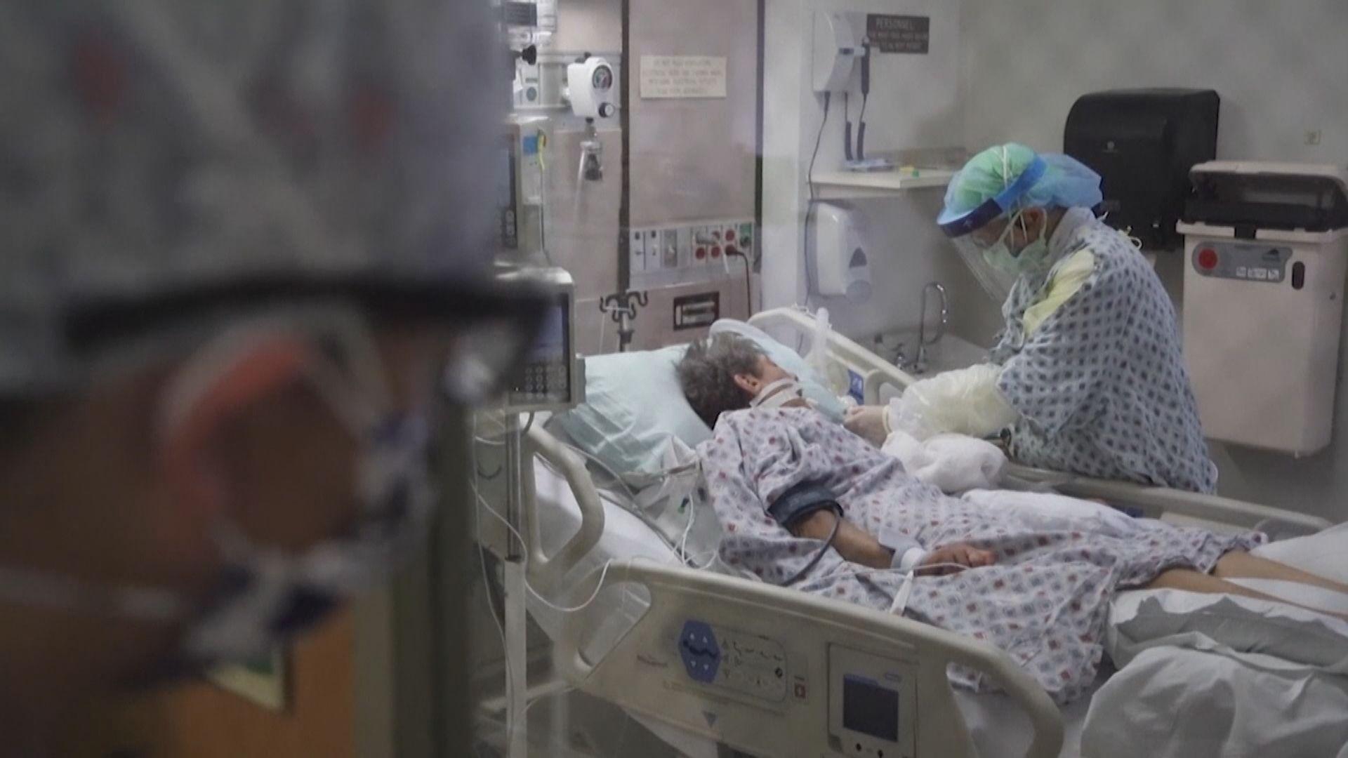 美國新增逾3.6萬病例 四月以來最多