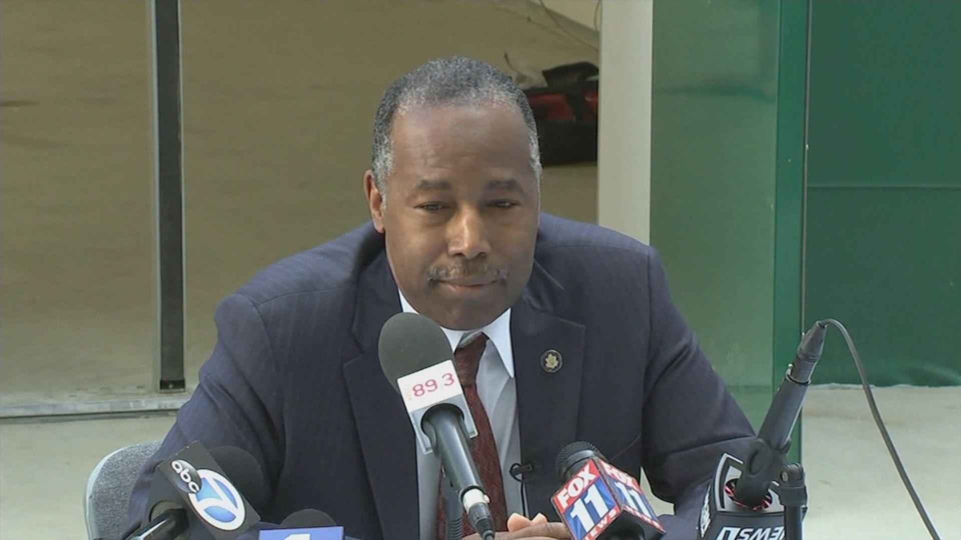 美國住房及城市發展部長確診新冠病毒