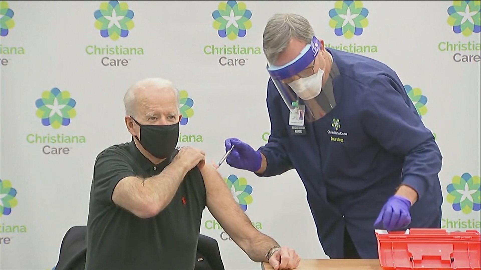 拜登形容拒接種新冠疫苗者是不愛國