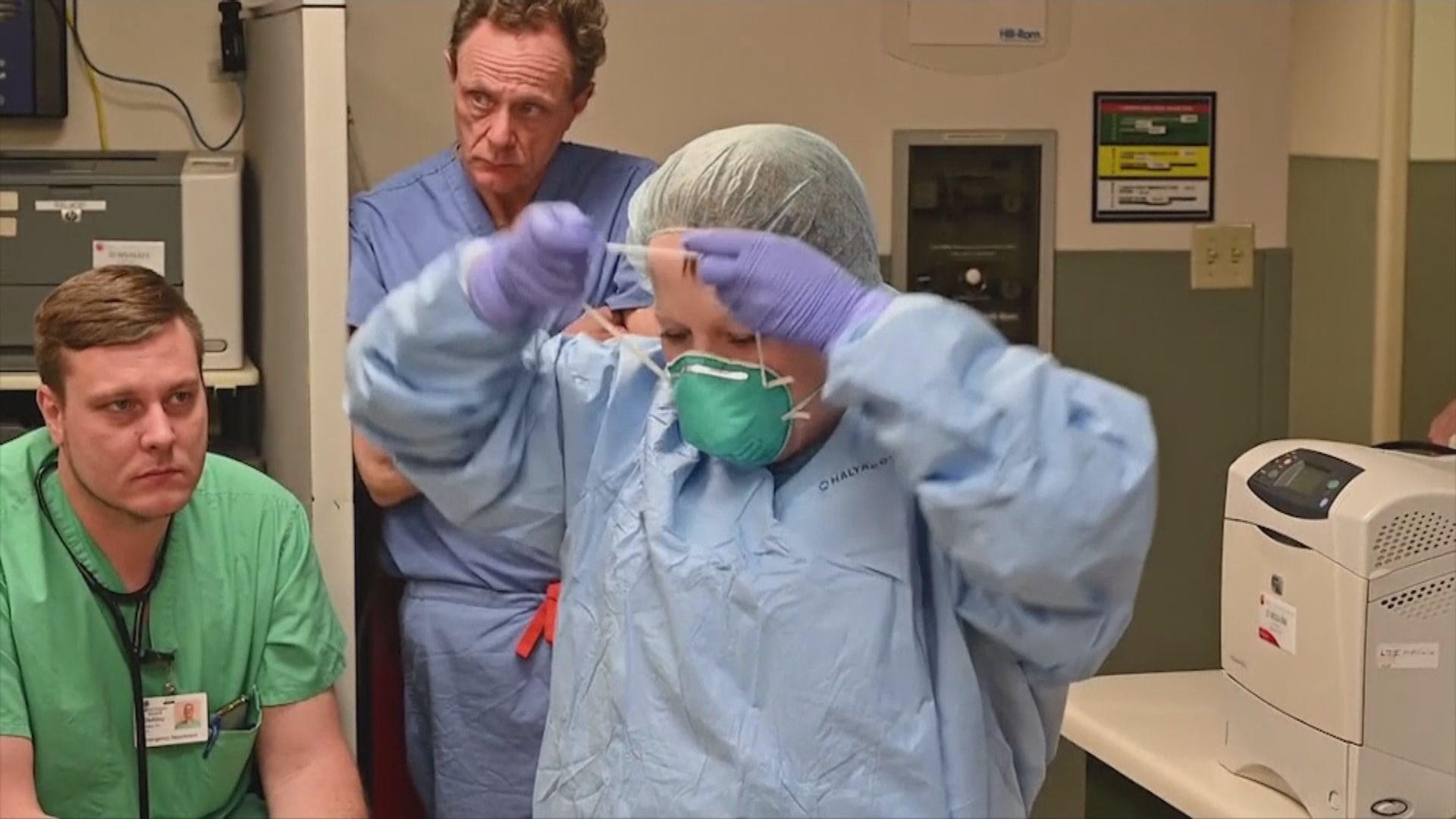 美國醫療物資短缺 特朗普提出消毒口罩重用