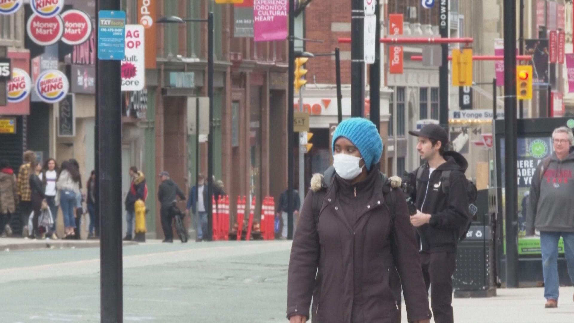 加拿大安大略省進入緊急狀態並實施居家令四周