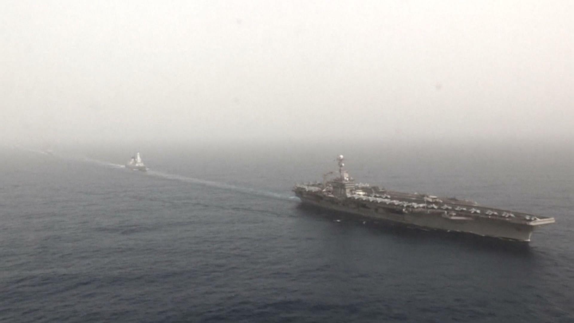 美航母「尼米茲號」據報有船員感染新冠病毒