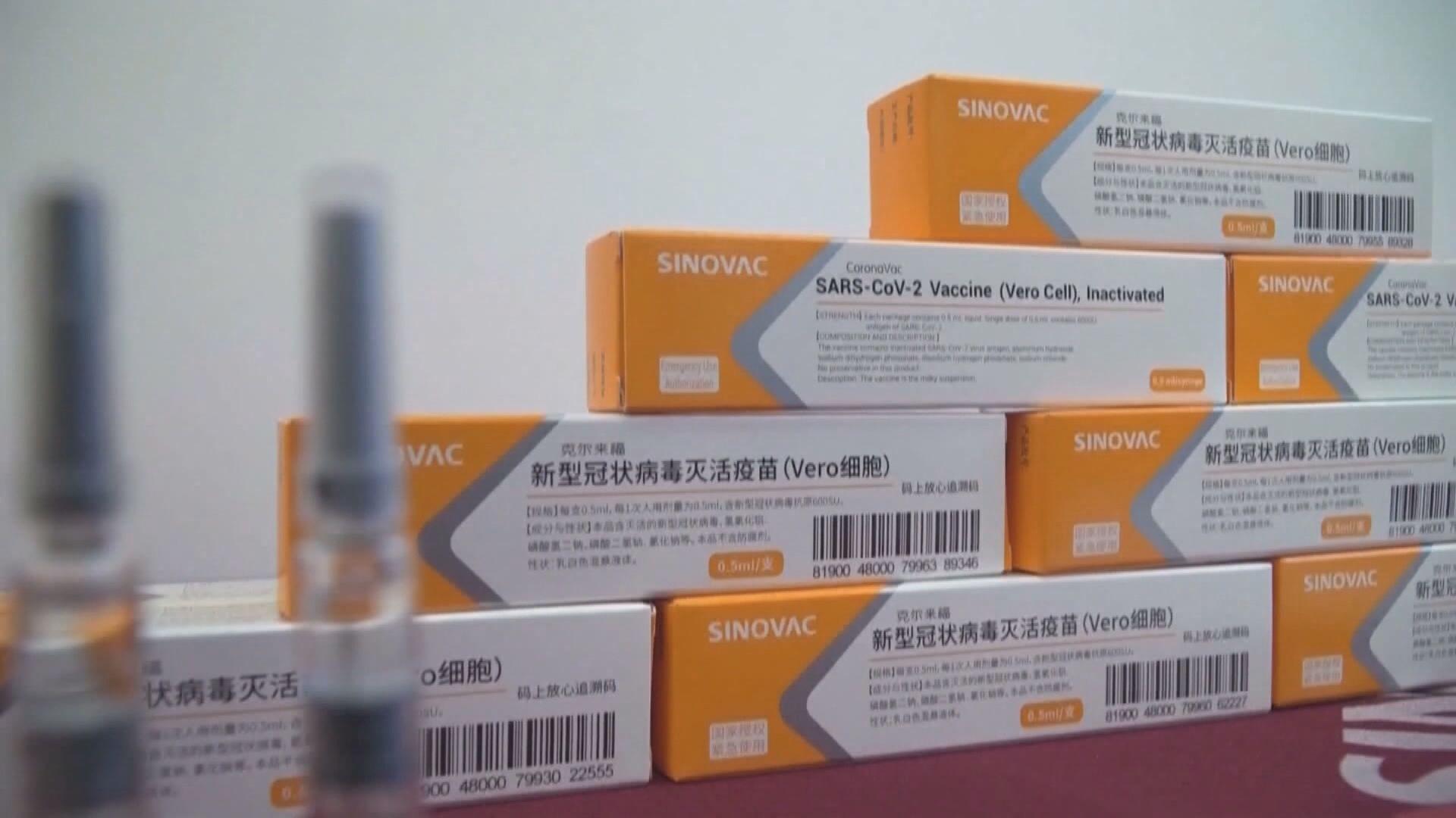 顧問專家委員會一致推薦緊急使用科興新冠疫苗
