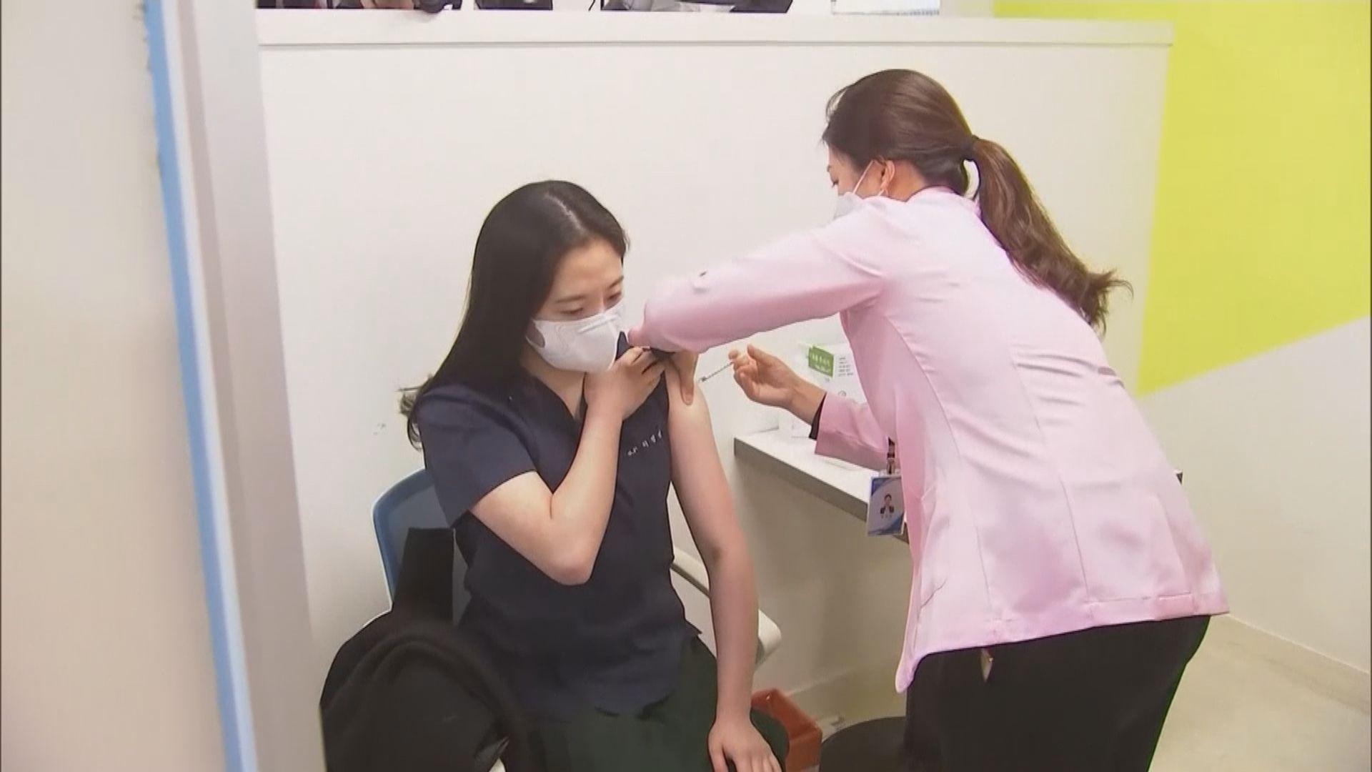 南韓接獲約200宗接種新冠疫苗後不良反應報告