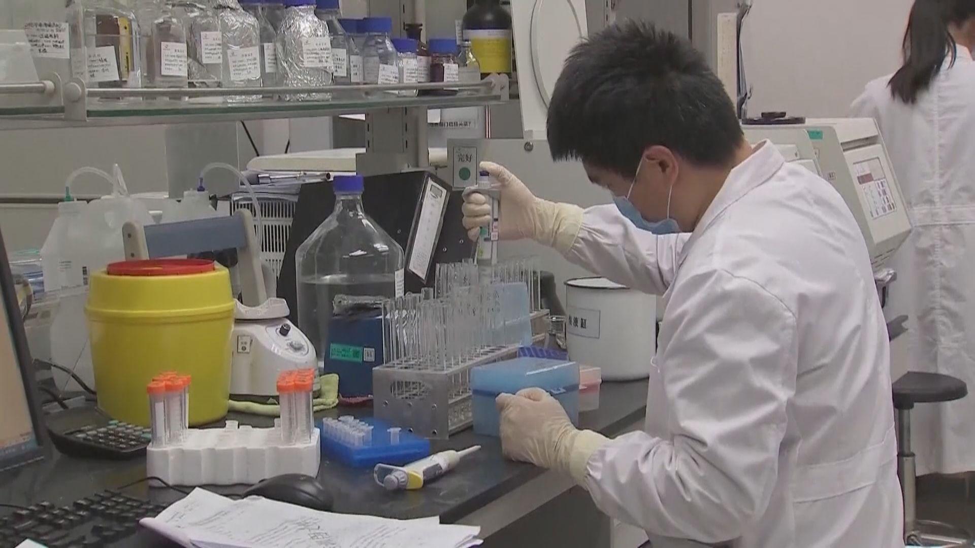 中國研製新冠病毒疫苗最快年底投入市場