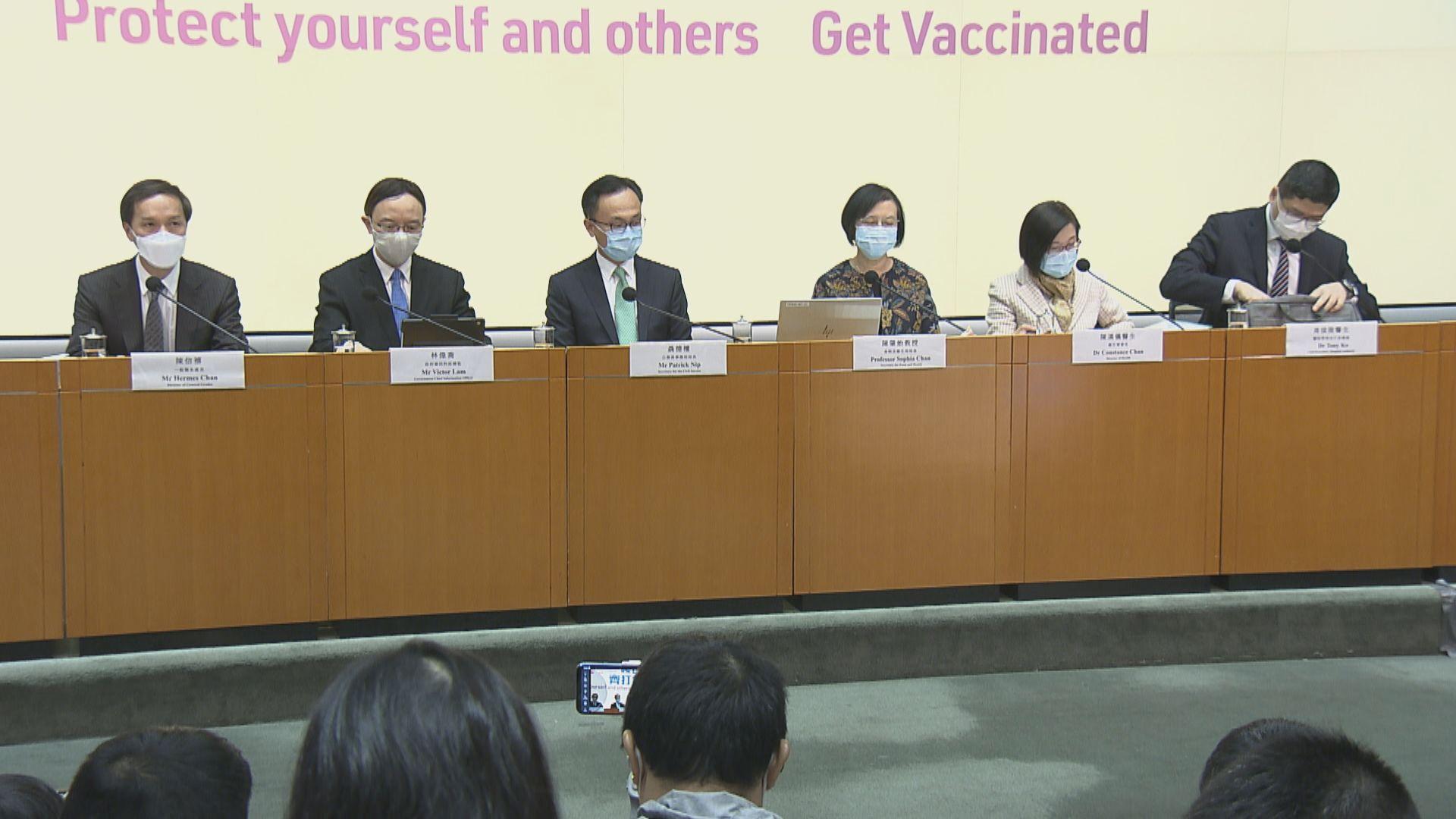 【下周二可預約】下周五起市民可接種科興疫苗 五組別獲安排優先接種