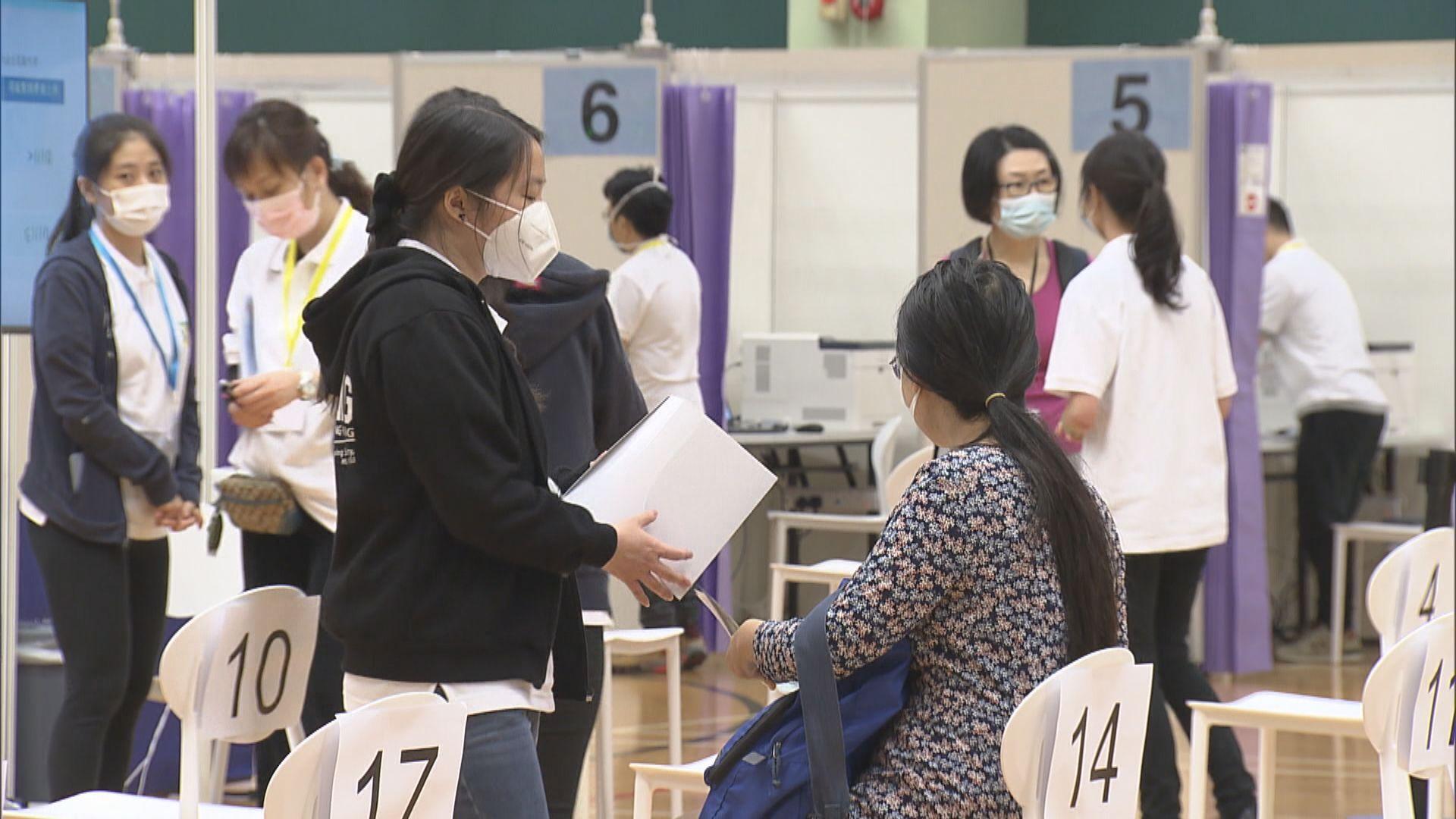 陳肇始:正考慮是否為非香港居民提供疫苗接種服務