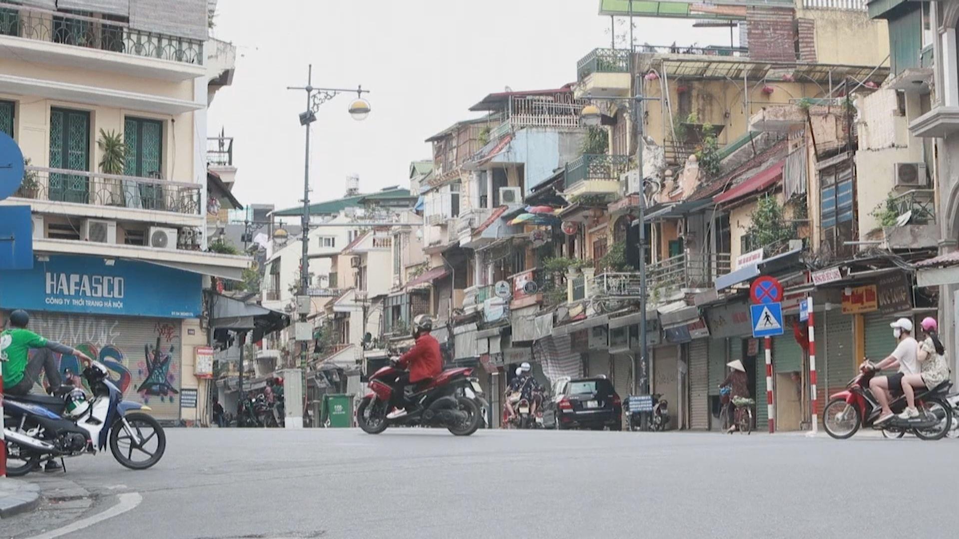 越南胡志明市周一起收緊防疫措施