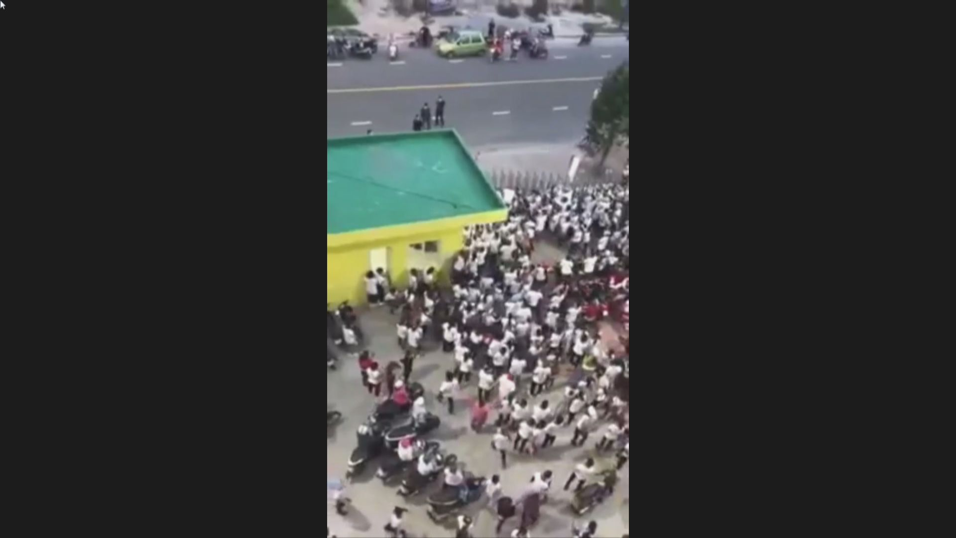 越南台資工廠一員工確診 觸發大批員工逃跑
