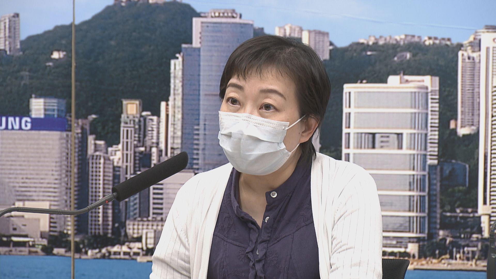 張竹君:若個案持續增加 檢疫中心會不勝負荷