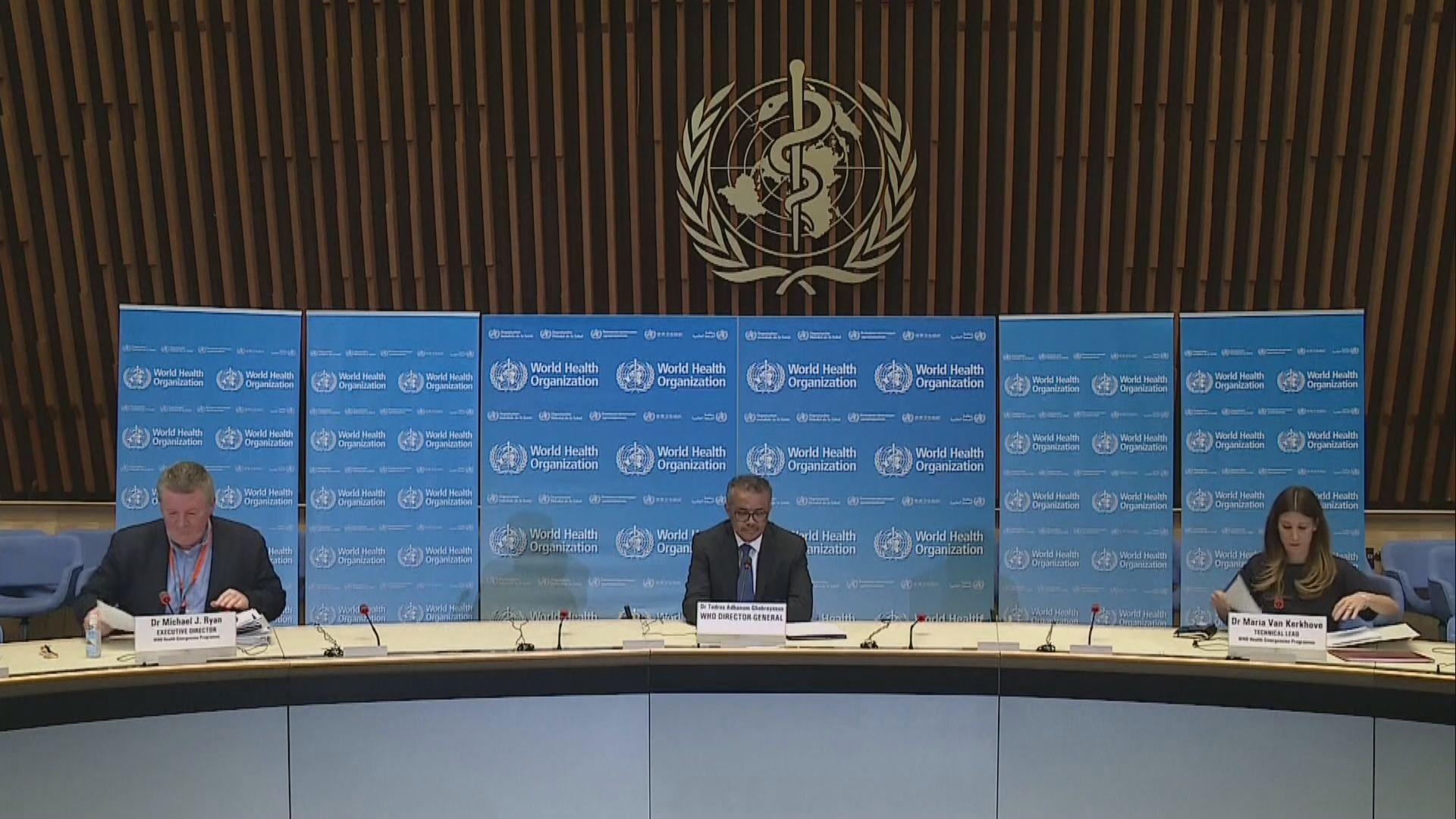 世衛與各國就逐步解除限制民眾活動措施制訂策略
