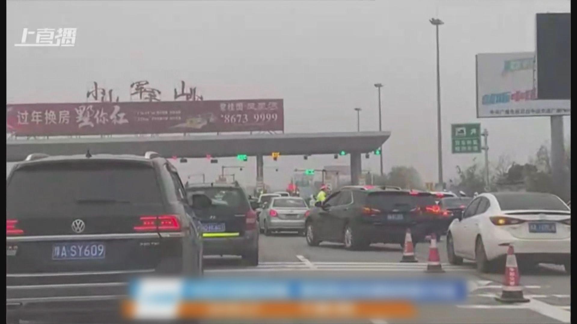 【武漢封城】市民仍可乘私家車經公路離開