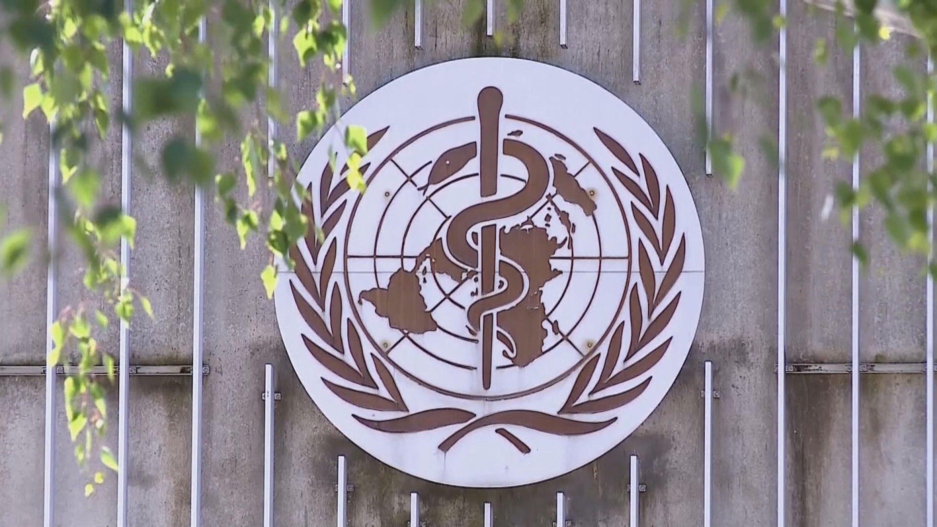 世衛總幹事譚德塞:應及時採取行動遏制疫情