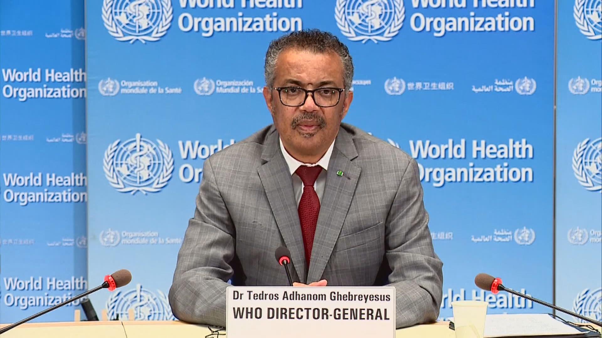 譚德塞讚揚美國為全球健康作出貢獻 期望可繼續合作