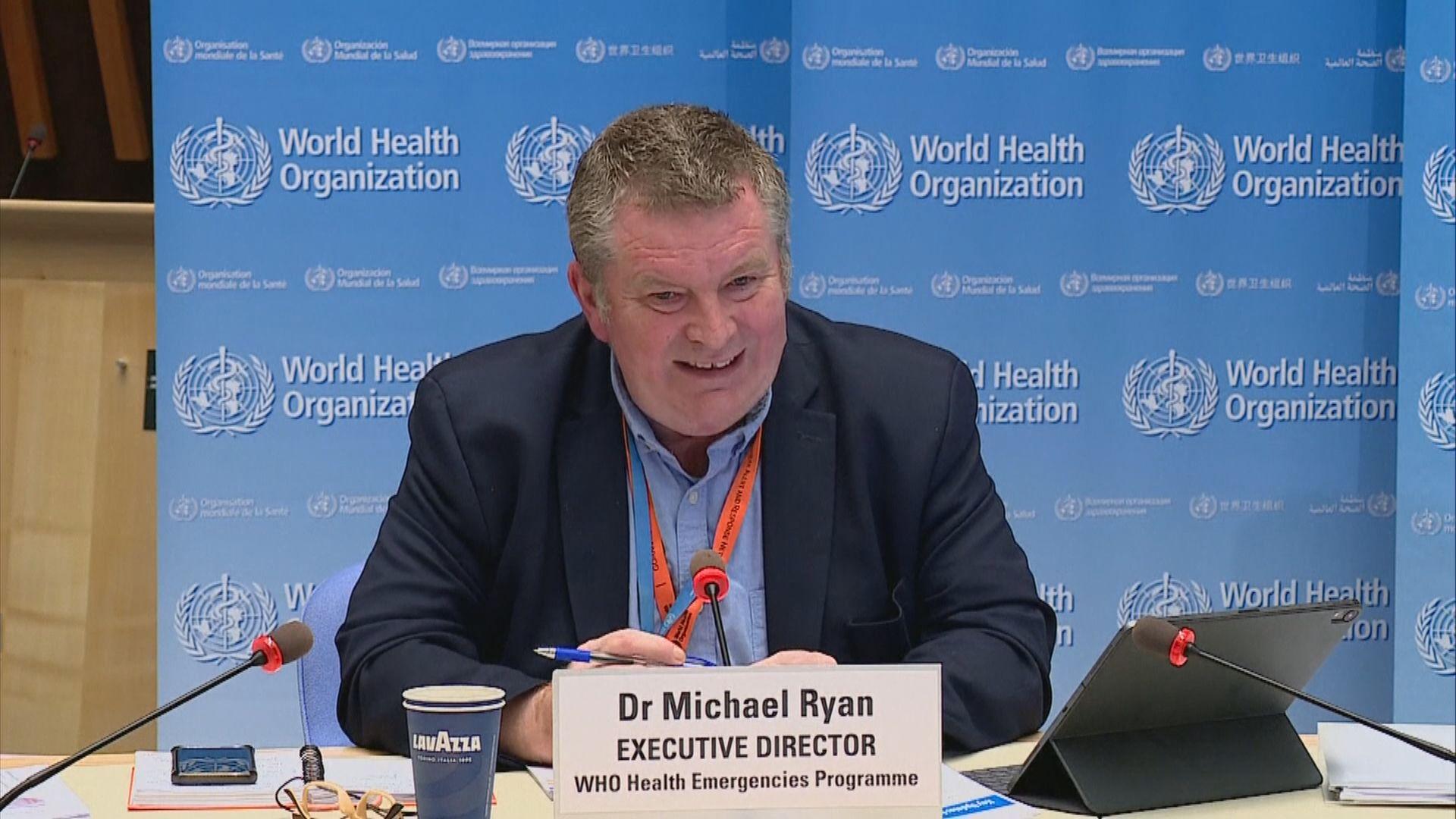 世衛指北京疫情病毒從歐洲輸出