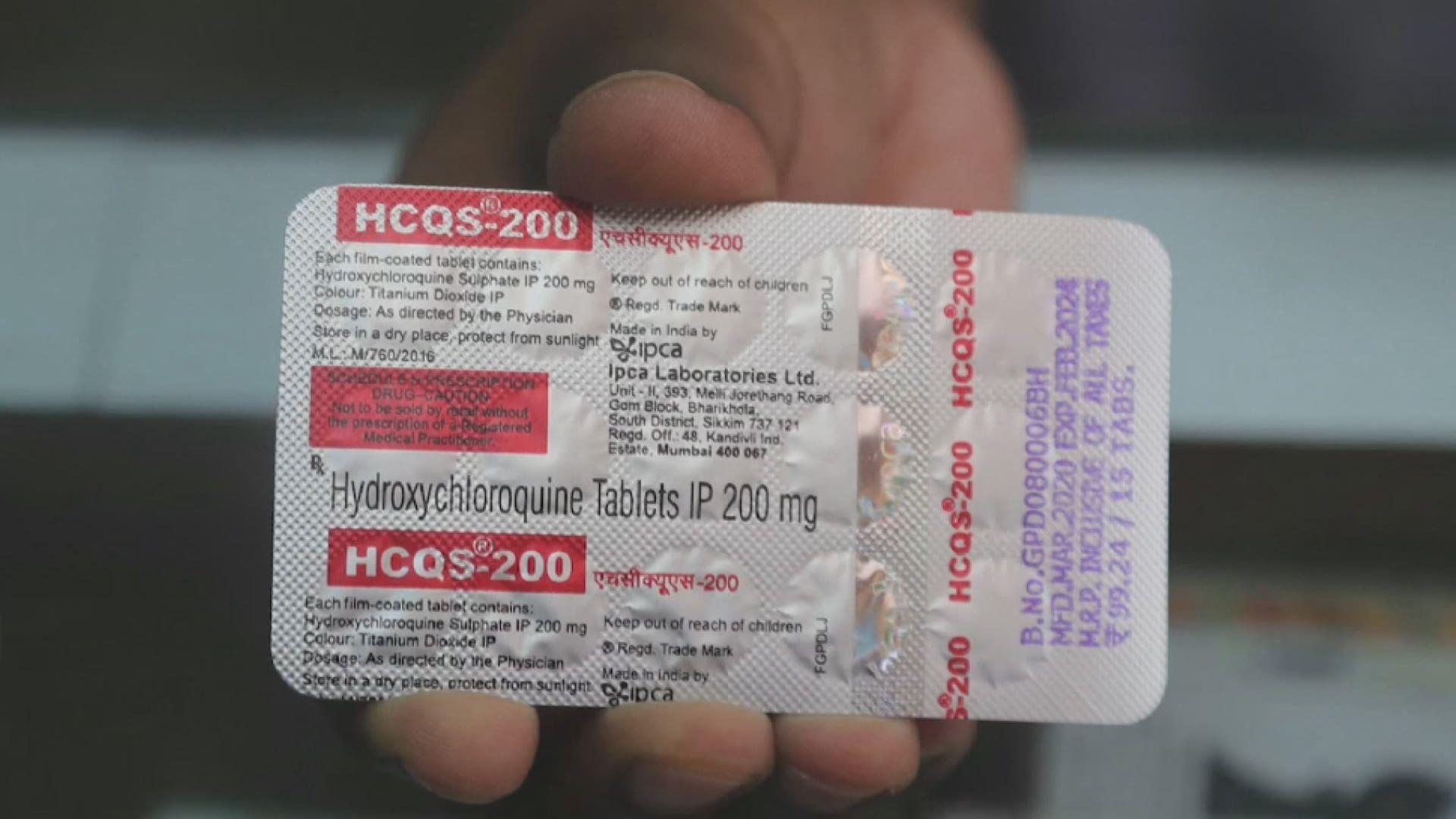 世衛停止使用羥氯喹治療新冠患者試驗