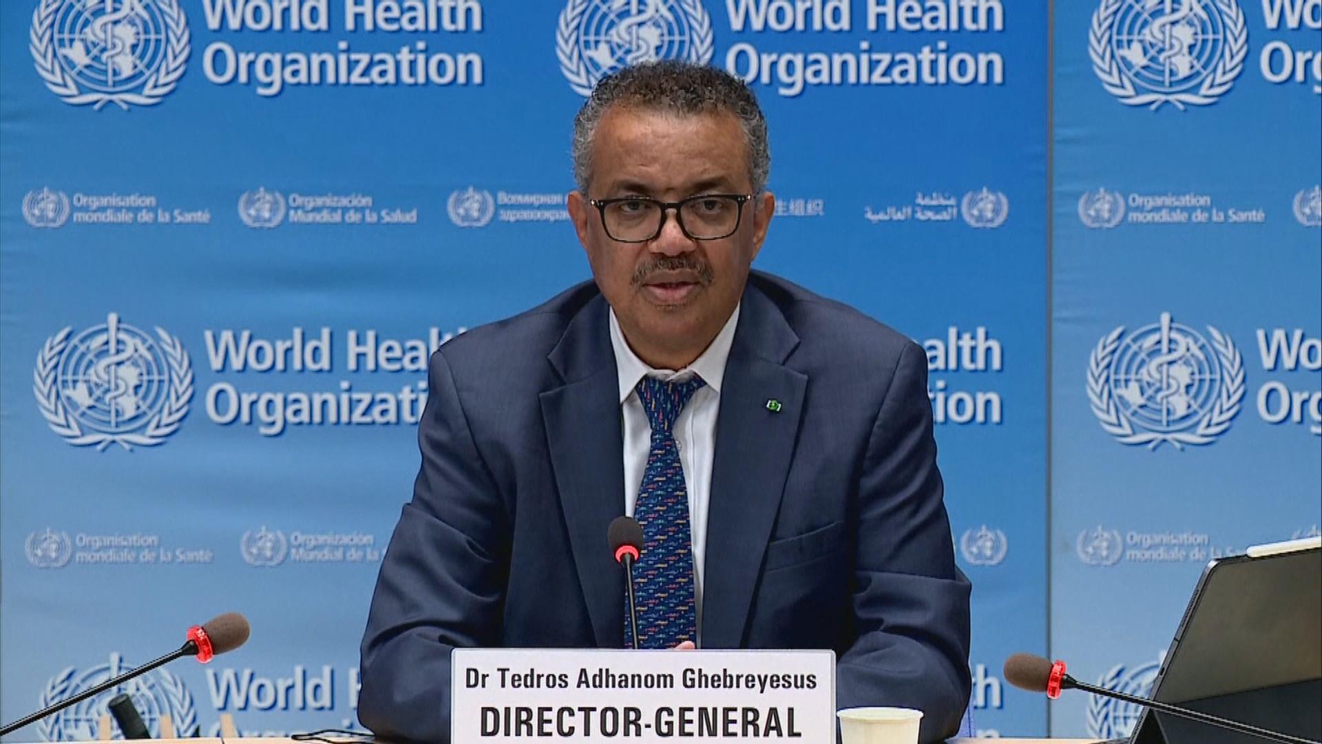 譚德塞:新冠疫情為世衛歷來最嚴重緊急衞生事件